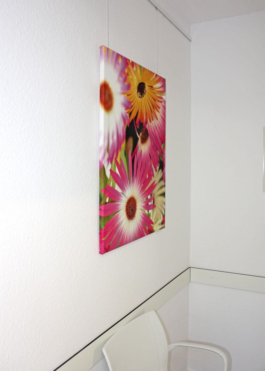 Fotoleinwände mit 2 cm Holzrahmen - PS Promotion Service GmbH