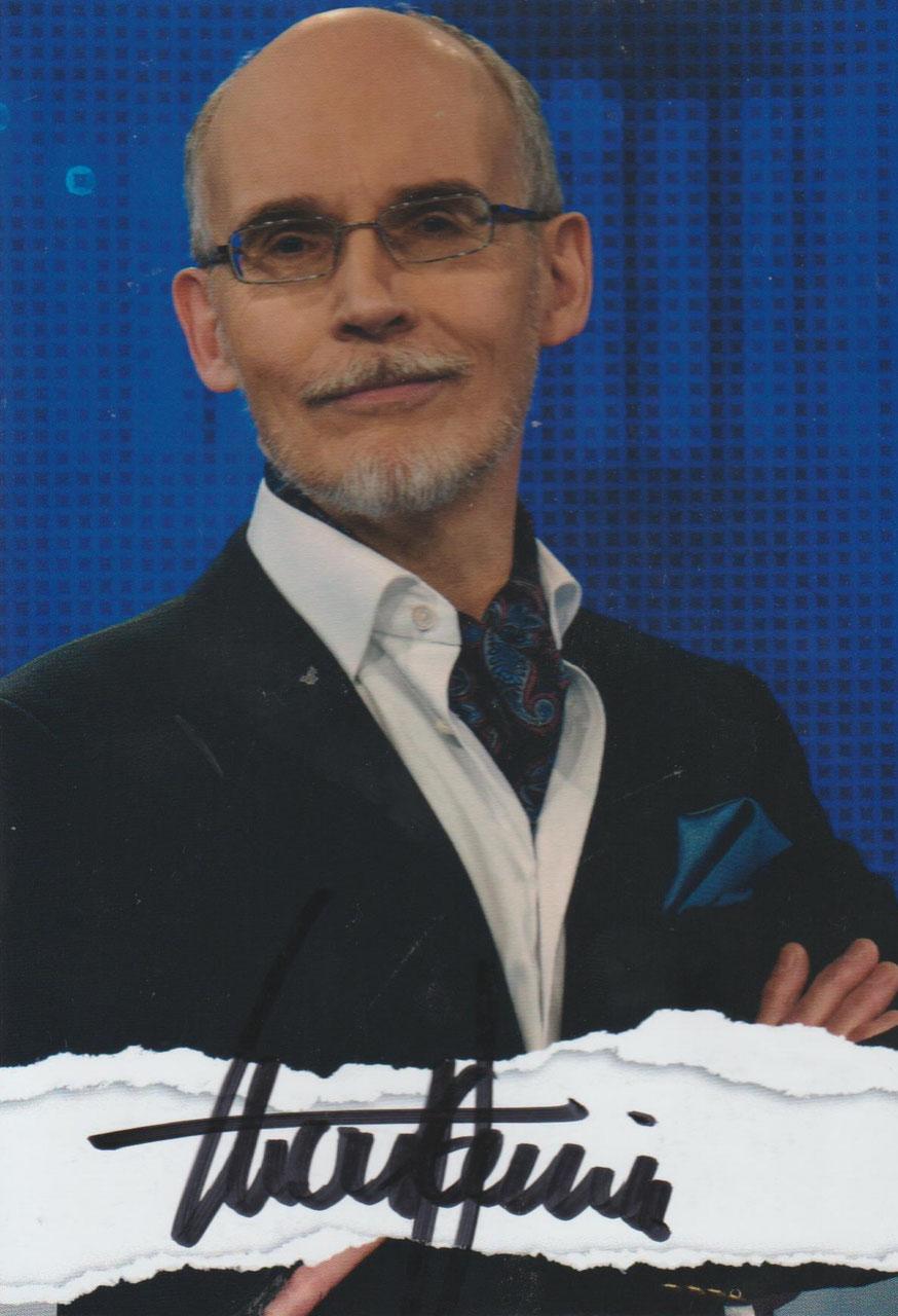 Sebastian Klussmann AK ARD Gefragt Gejagt Autogrammkarte original signiert 2