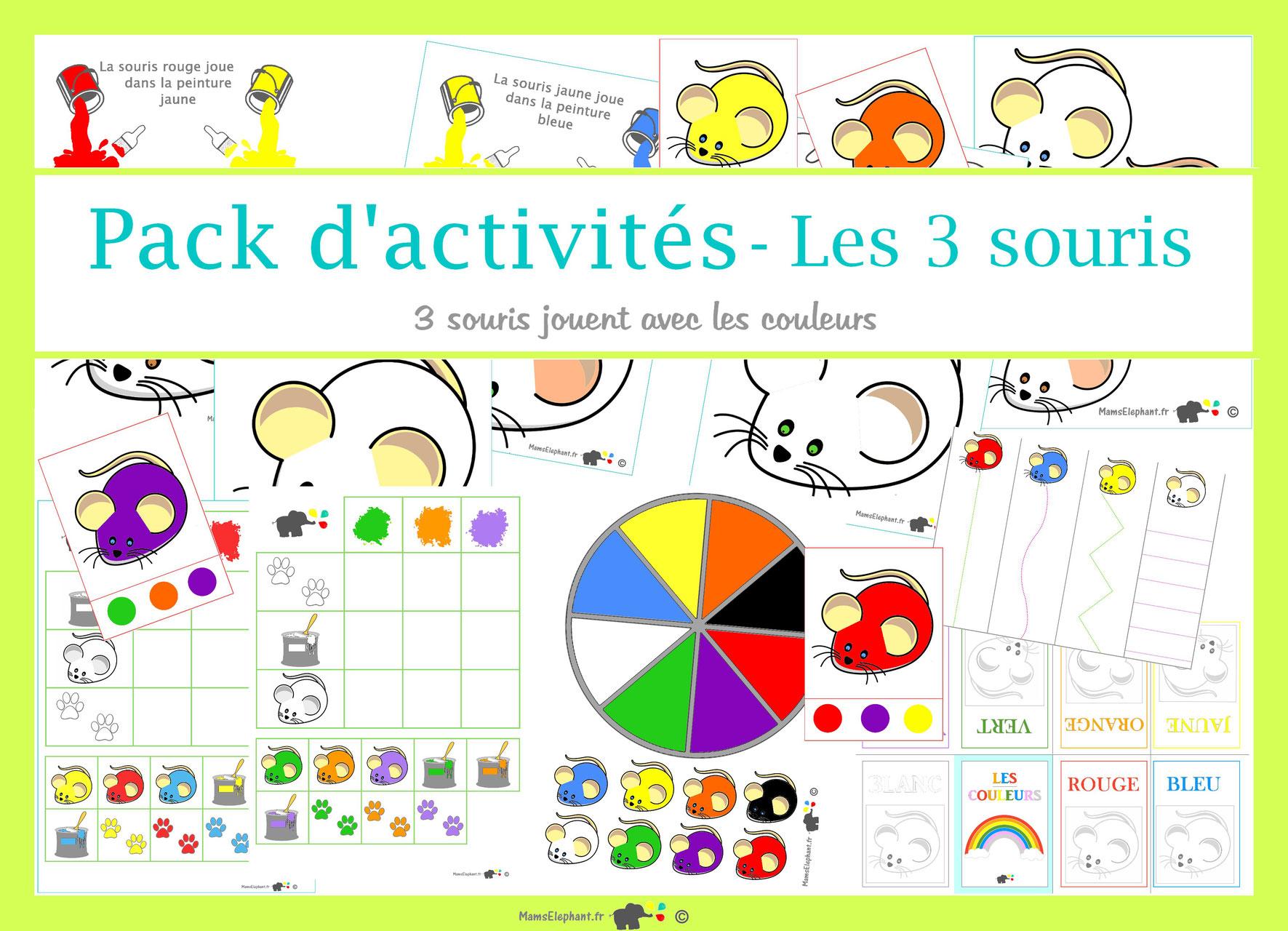 Albums Activités Trois Souris Peintres