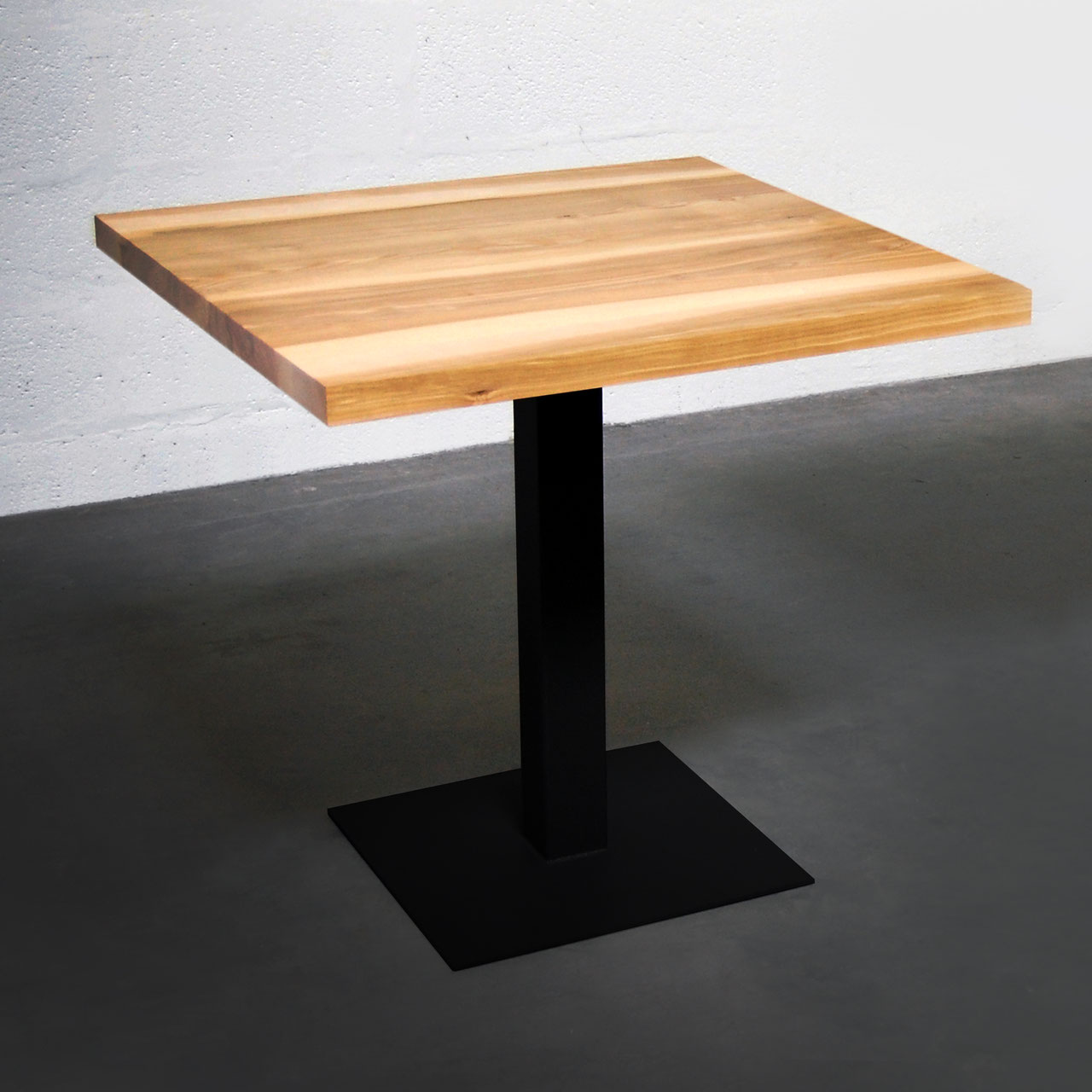 table bistrot carrees - artmeta / mobilier sur mesure