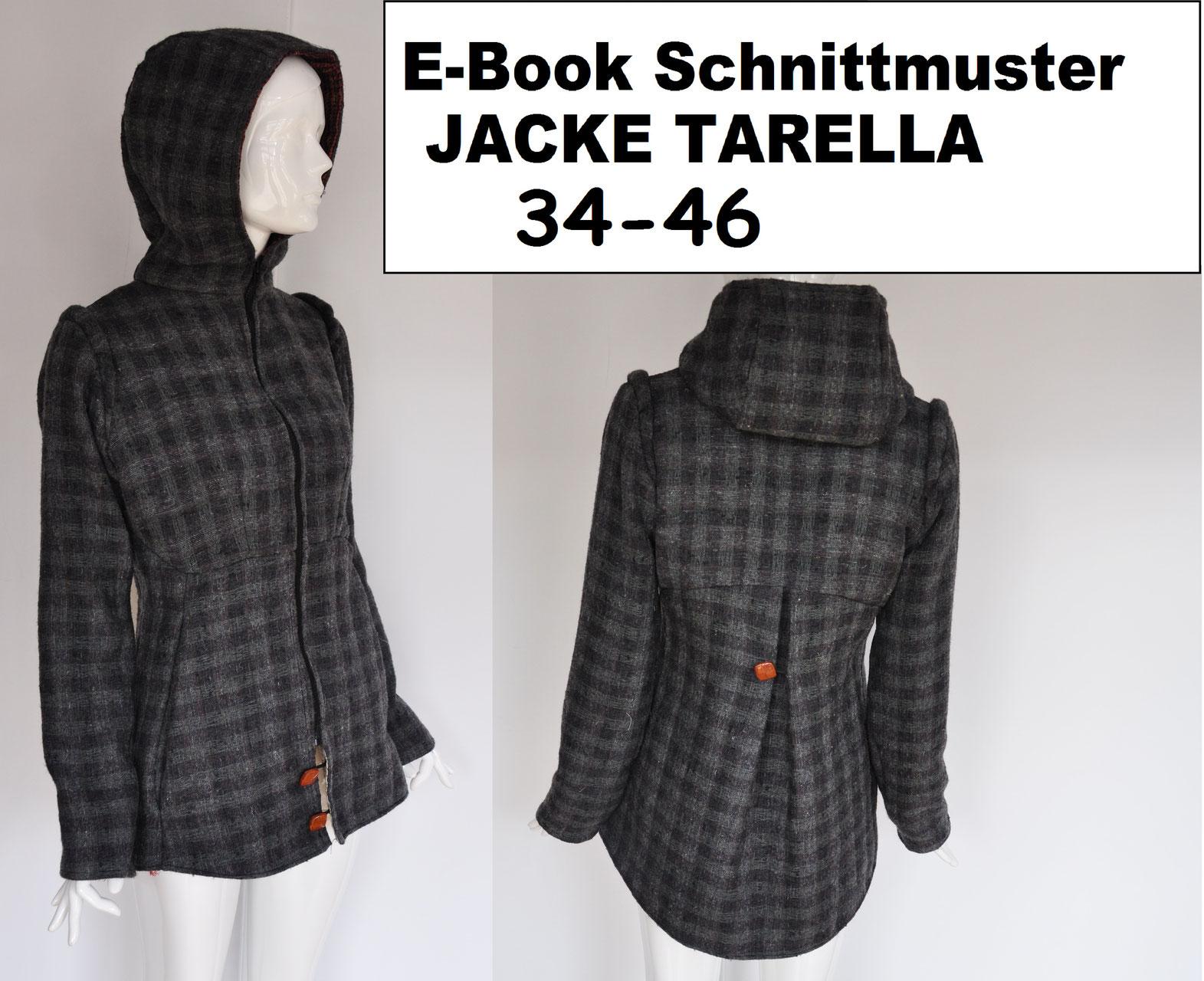 E-Book/ Schnittmuster für Jacken - Schnittmuster von