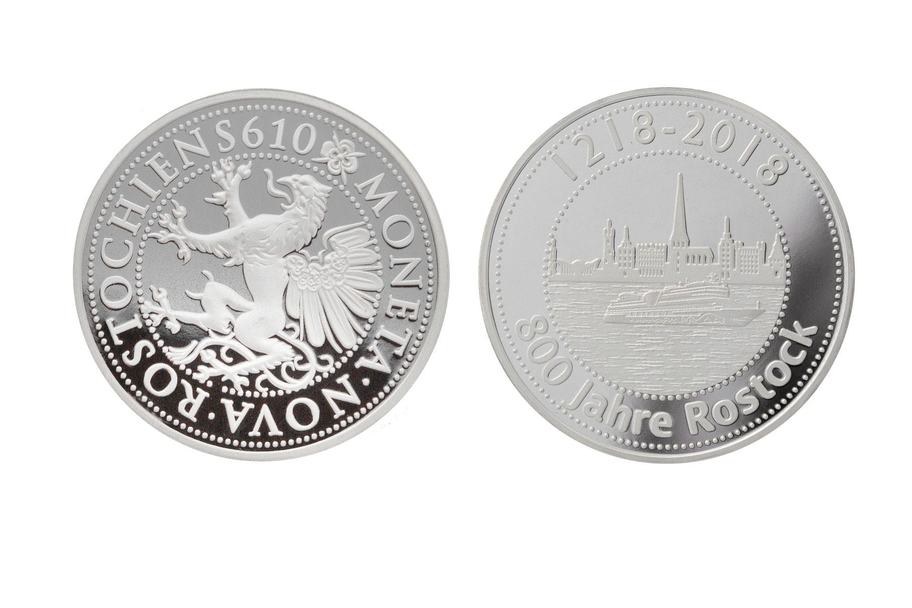 Online Shop Für Rostocks 800 Jahre Münze 800 Jahre Rostock Münze