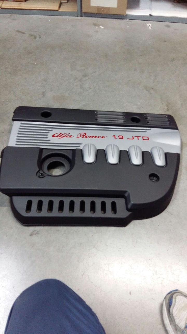 Schema Elettrico Alfa 147 1 9 Jtd : Copri motore alfa autoricambi online low cost
