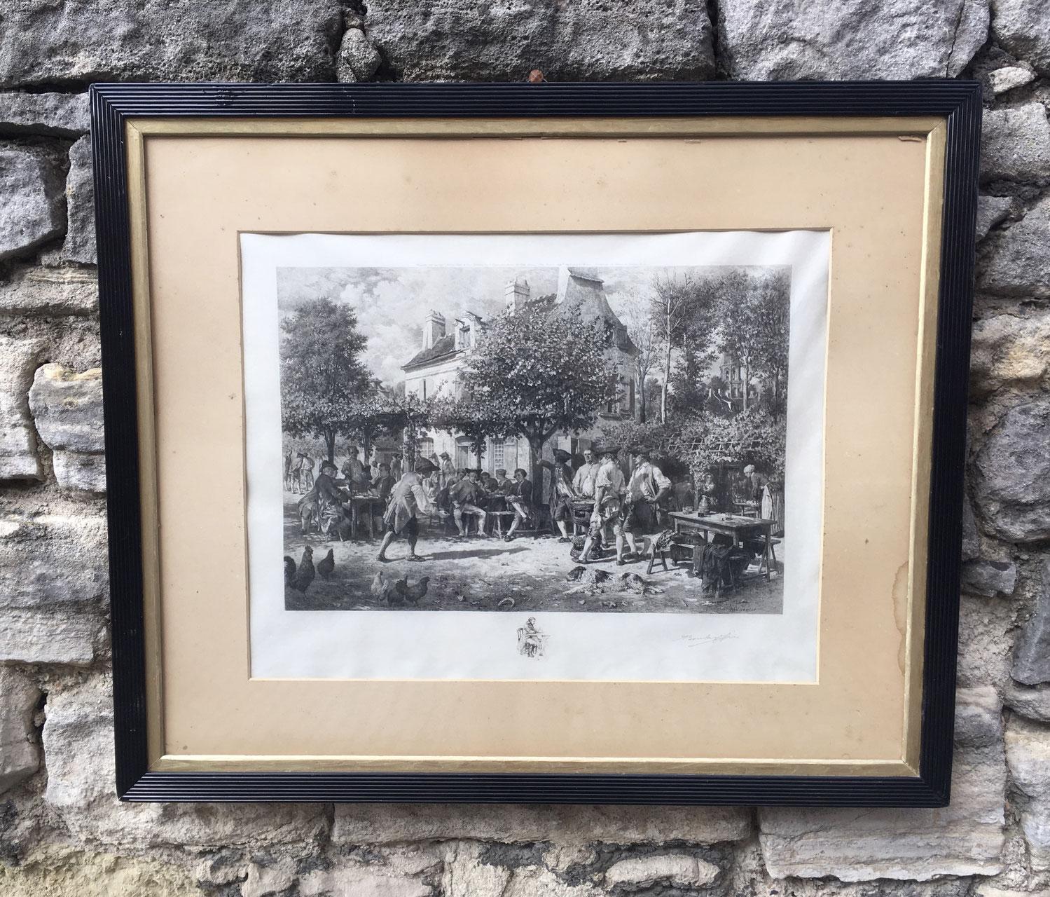 bilder, gemälde & rahmen - Antiquitäten La Belle Epoque