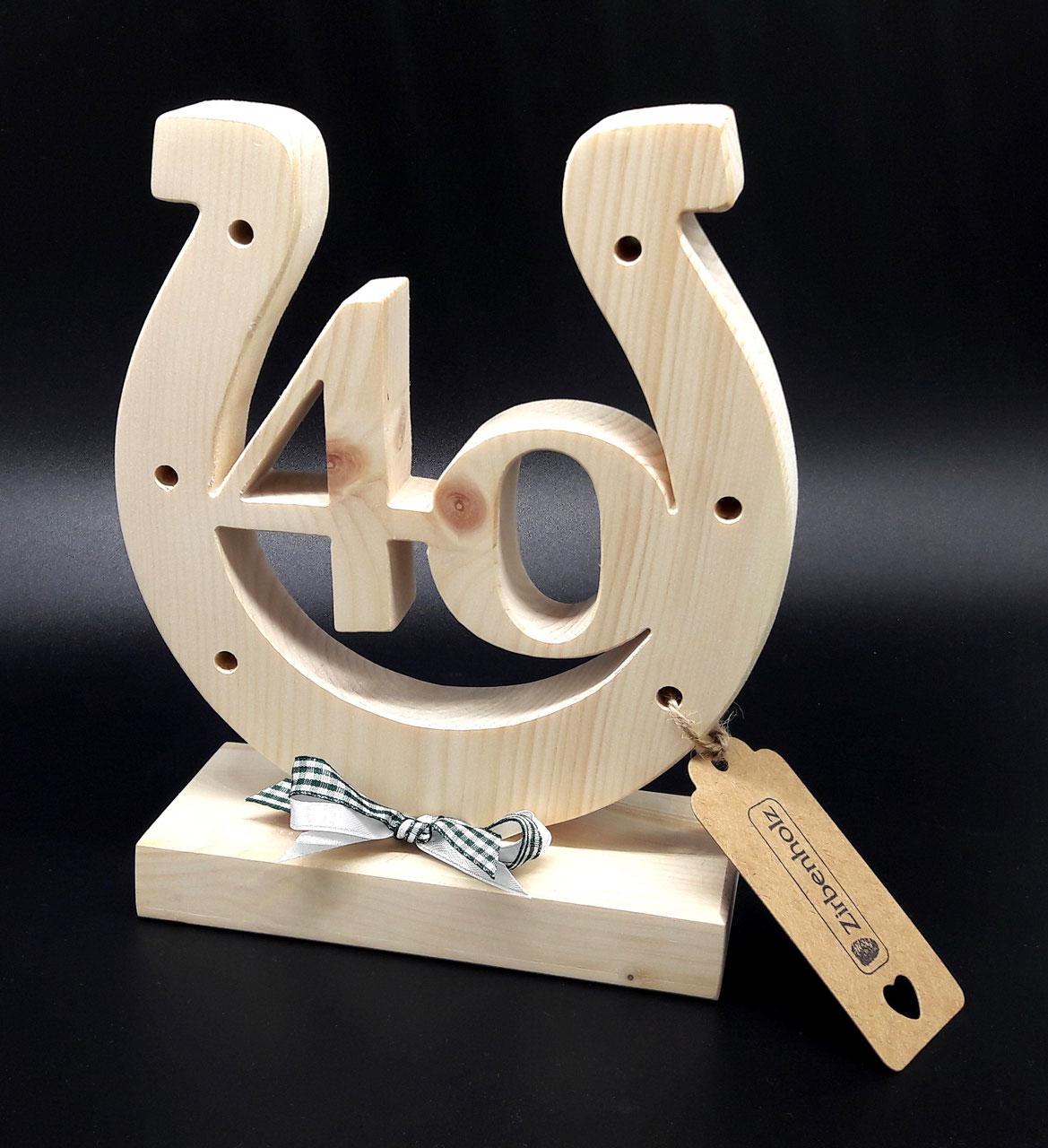 Holz geschenke zum 50 geburtstag hochzeitsgeschenke aus - Hufeisen aus holz ...