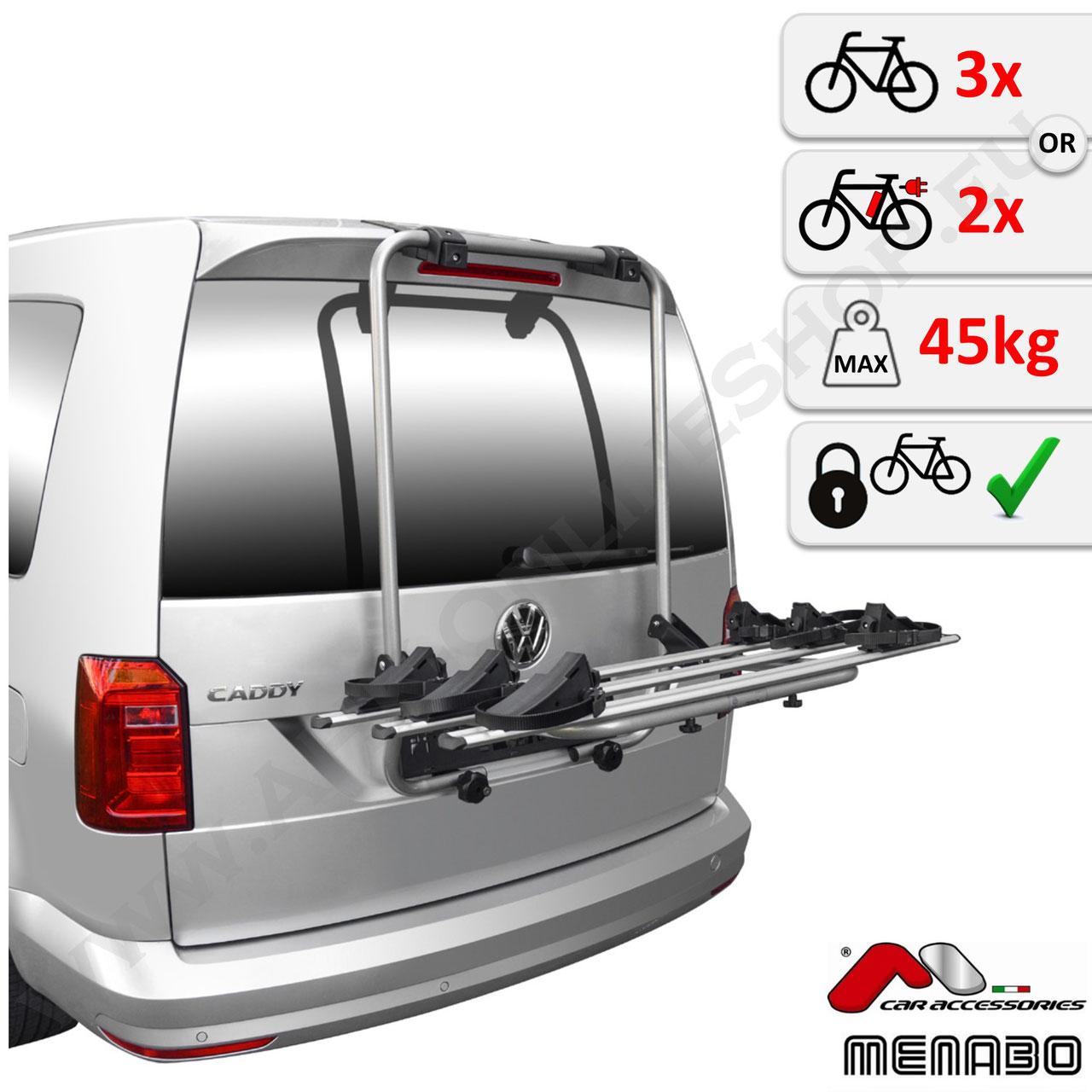Fahrradträger Menabo Top Bike für BMW 7er Limousine 1 Rad  NEU