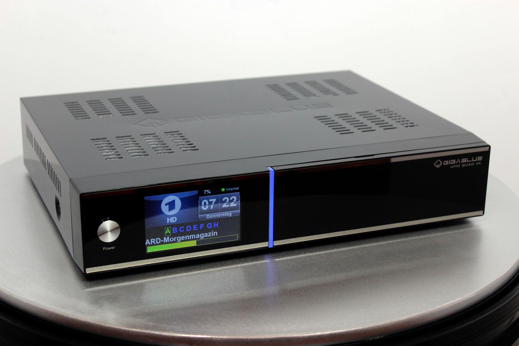 gigablue quad 4k  GigaBlue UHD Quad 4K
