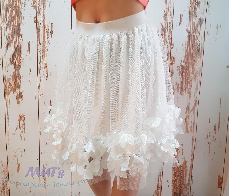 bc2e8a481 Falda Tul Blanca - Moda Urbana y Tendencias