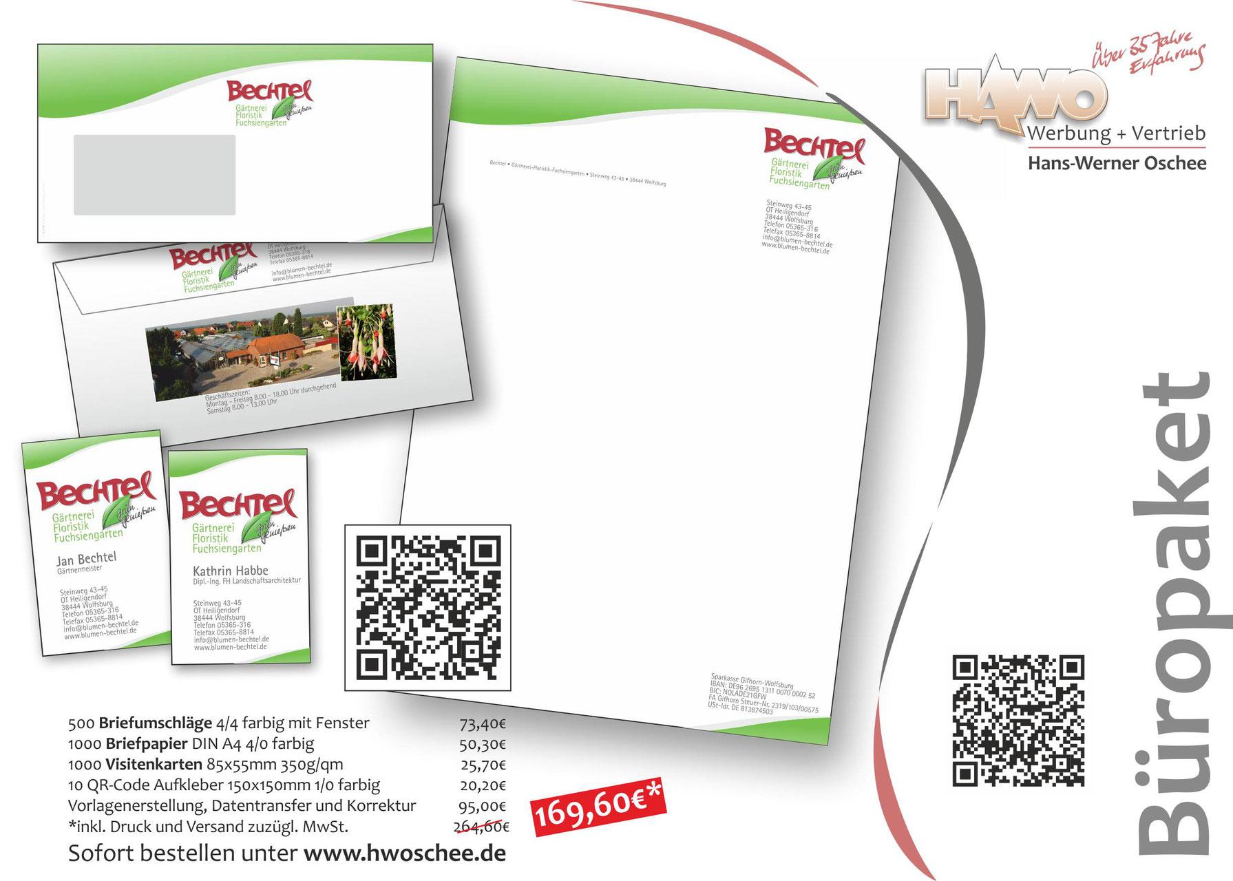 Büropaket oschees Webseite