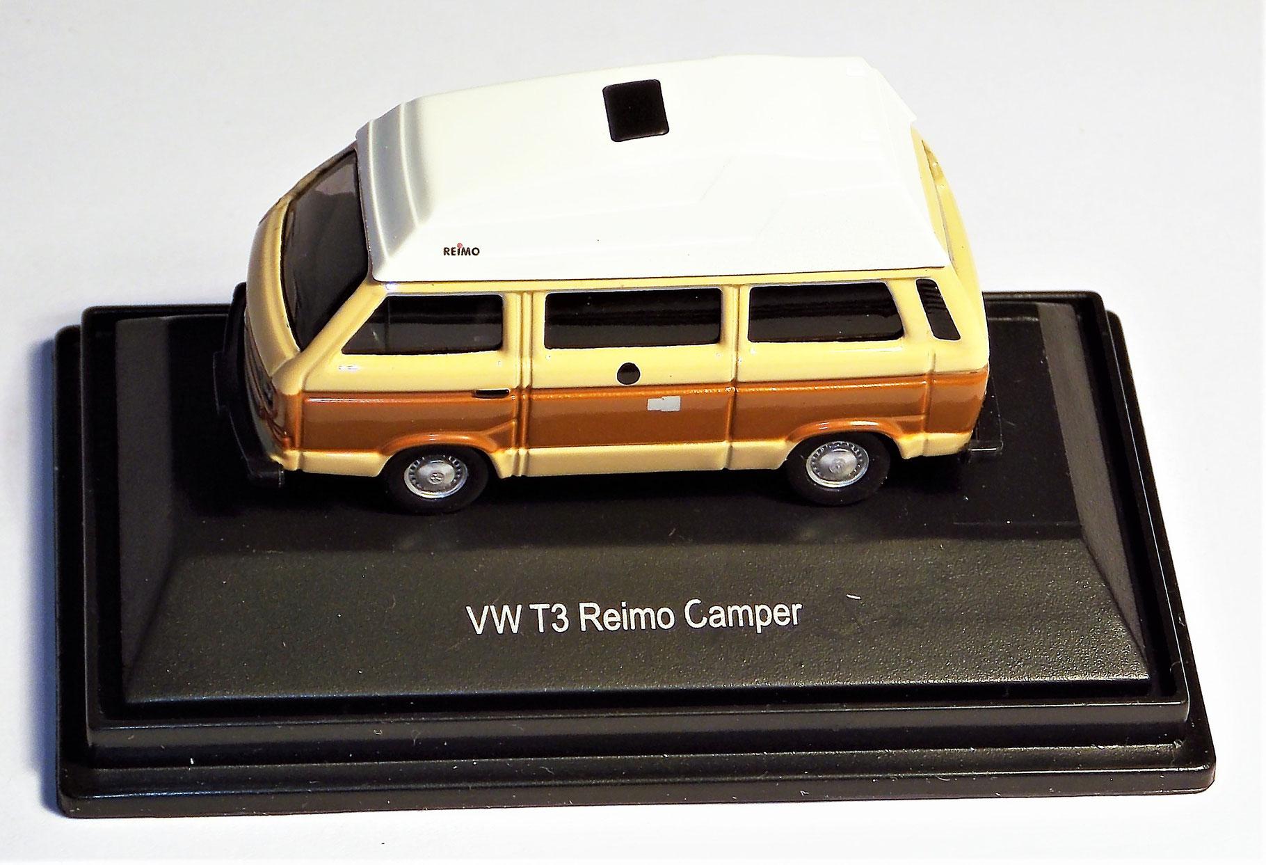 Schuco 1:87 3er set Volkswagen VW t3 Camper Dehler Westfalia Joker caravana