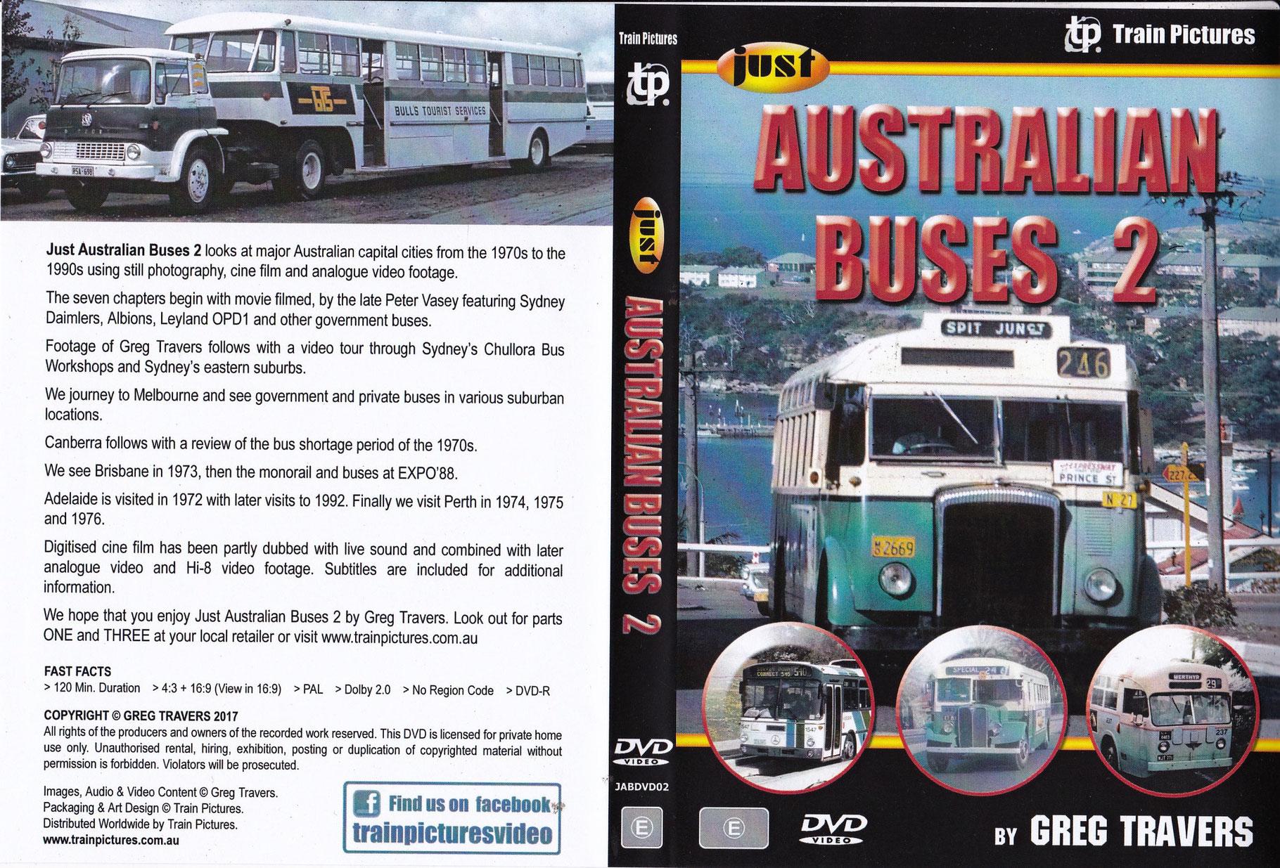 ACTION DVDs  Sydney Bus Museum Bus Shop