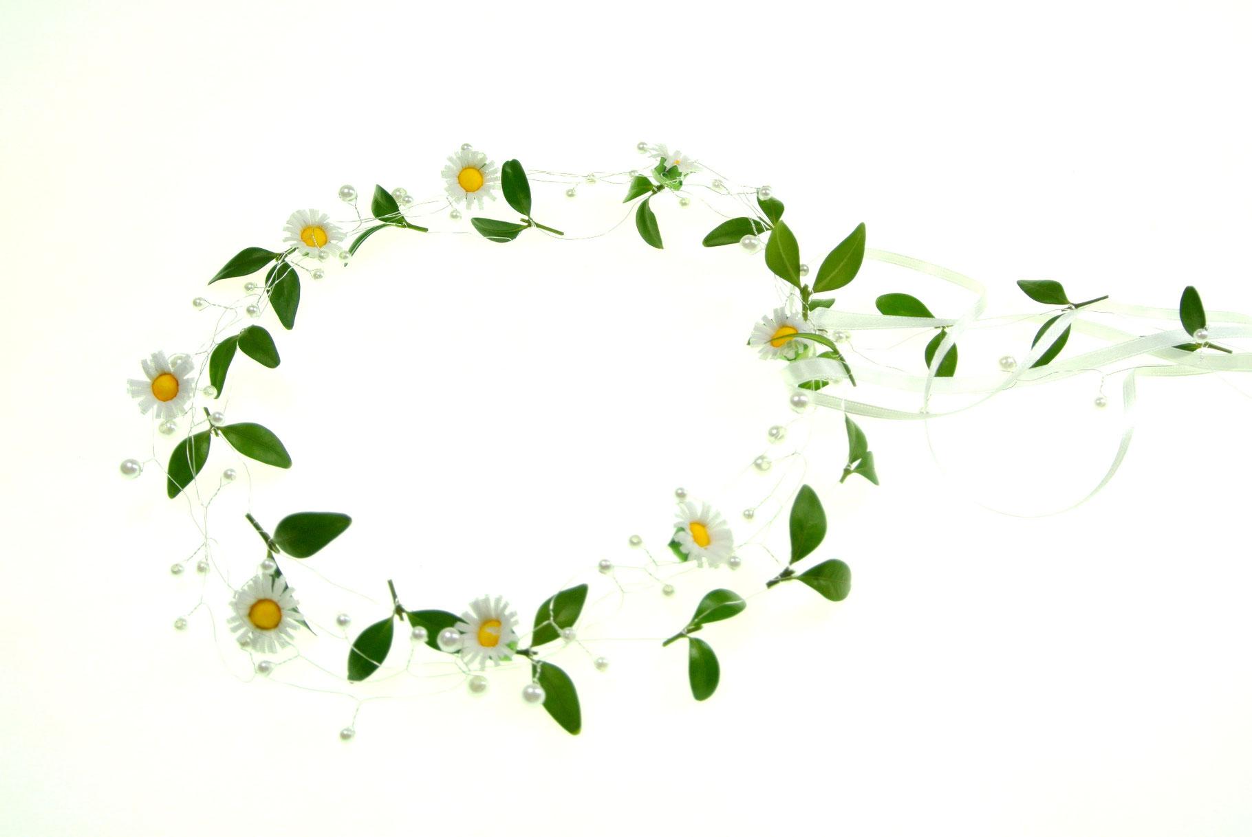 Blumen Haarreif Rosen Blüten Haarschmuck Hochzeit Festival /%SALE/% Gelb Apricot