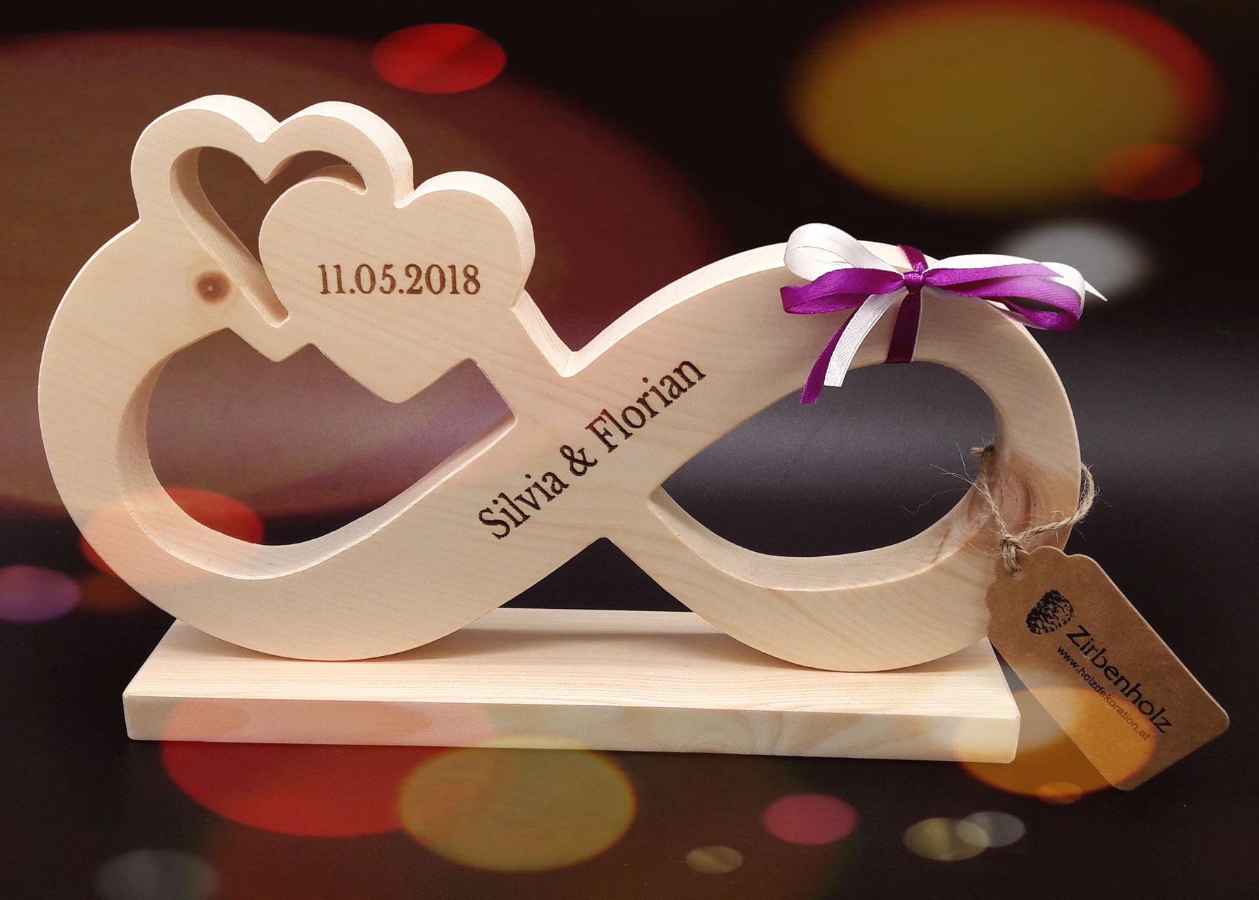 Originelle Hochzeitsgeschenke Ideen Mit Namen Geschenke Aus Holz