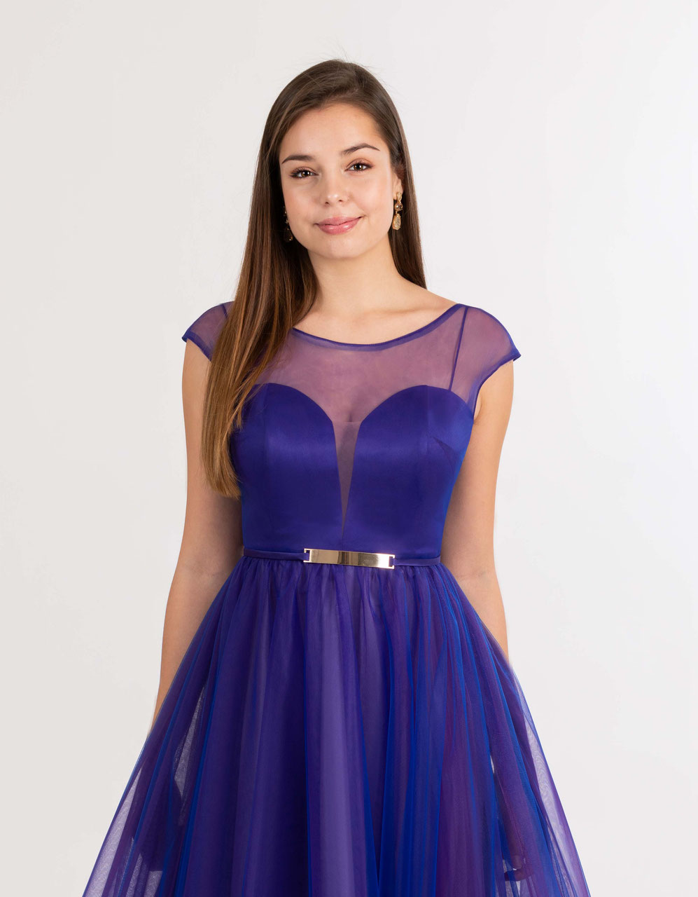 Violettes Ballkleid nach Maß ganz einfach online bestellen ...