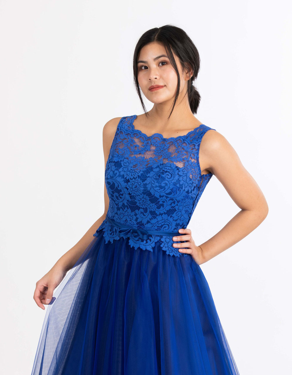 royal blaues ballkleid nach maß ganz einfach online bestellen