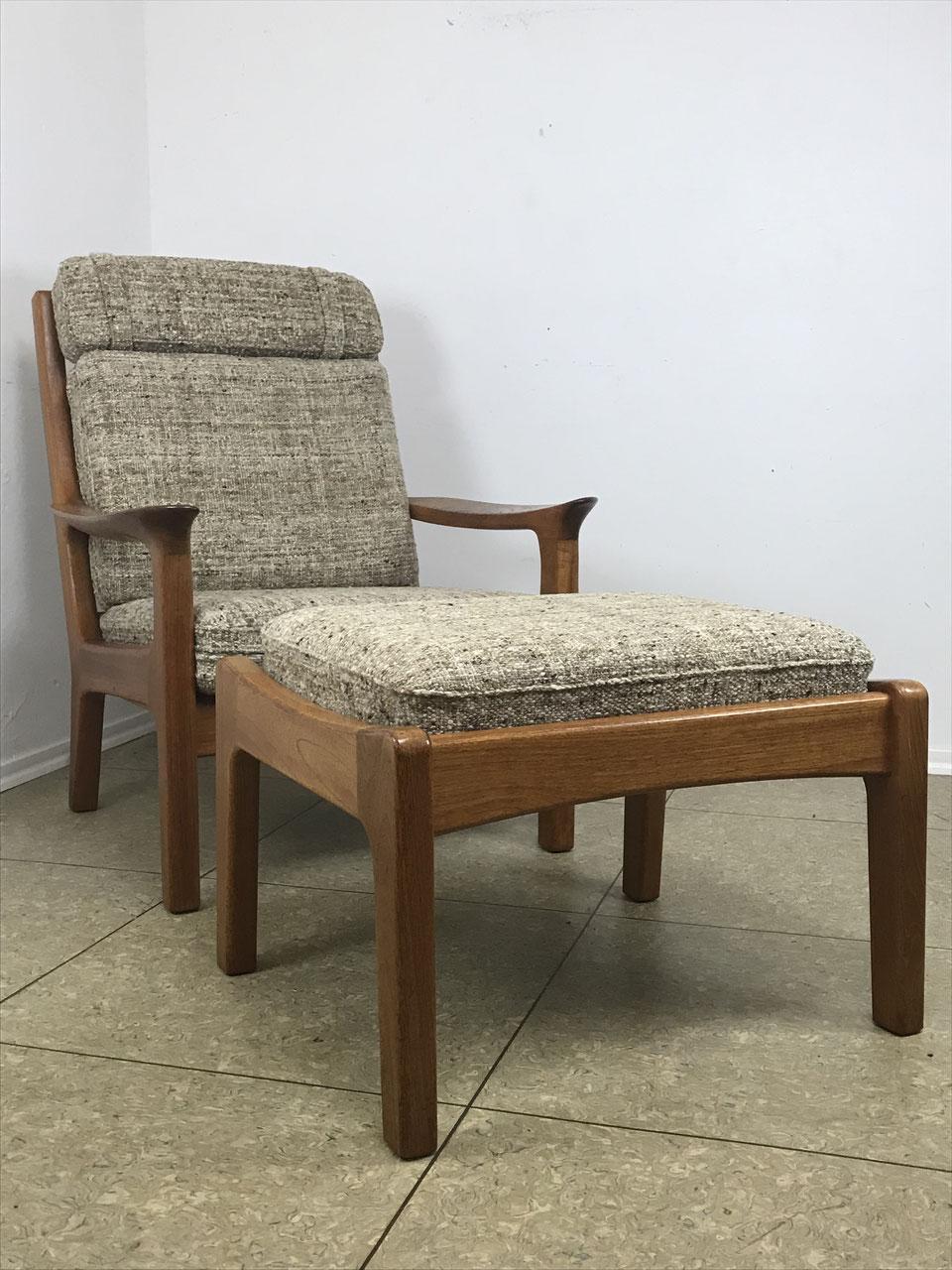 60er 70er Jahre Teak Sessel Easy Chair Juul Kristensen Danish Design