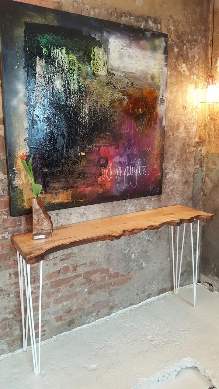 Couchtische wohzimmertische sideboards die for Couchtisch filigran