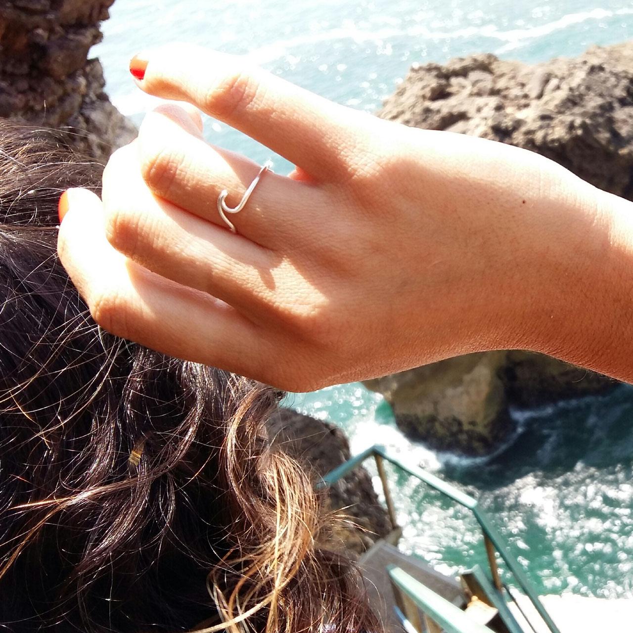 WAVE Ring. Der süsse Ring mit Wellensymbol. - KIZZU ♥ edler von ...