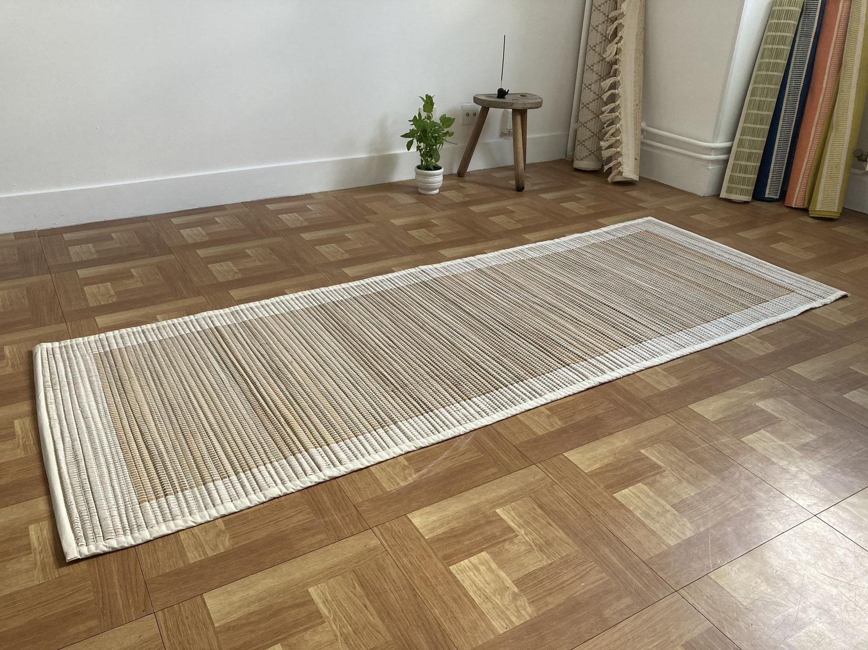 acheter des tapis de yoga certifie bio tisses main naturels et biodegradable tours 37000