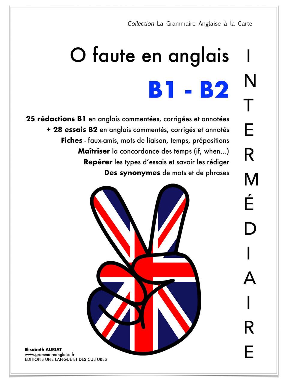 0 Faute En Anglais B1 B2