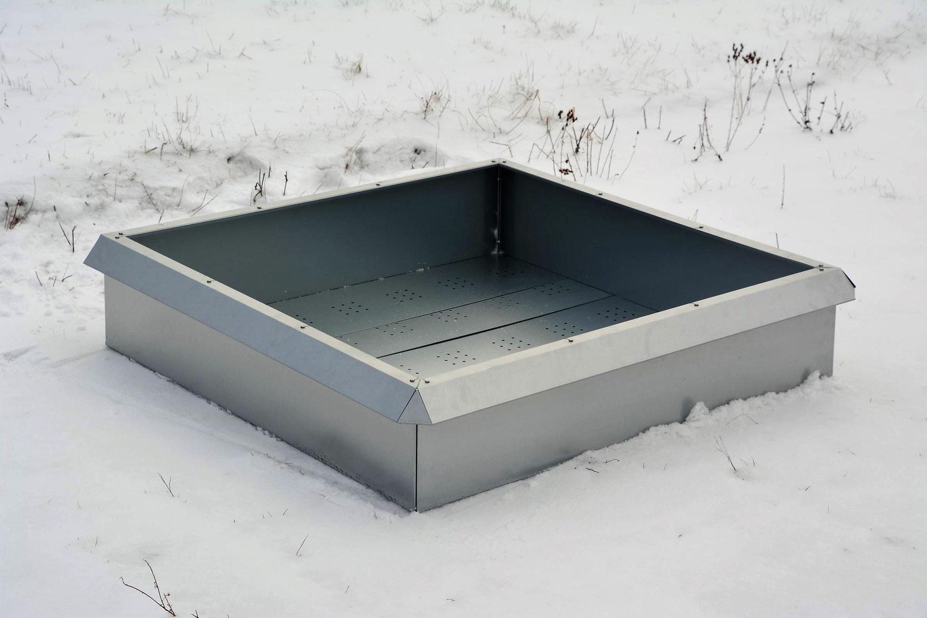 Hochbeet 1x1 Meter Von Metallmoebel24