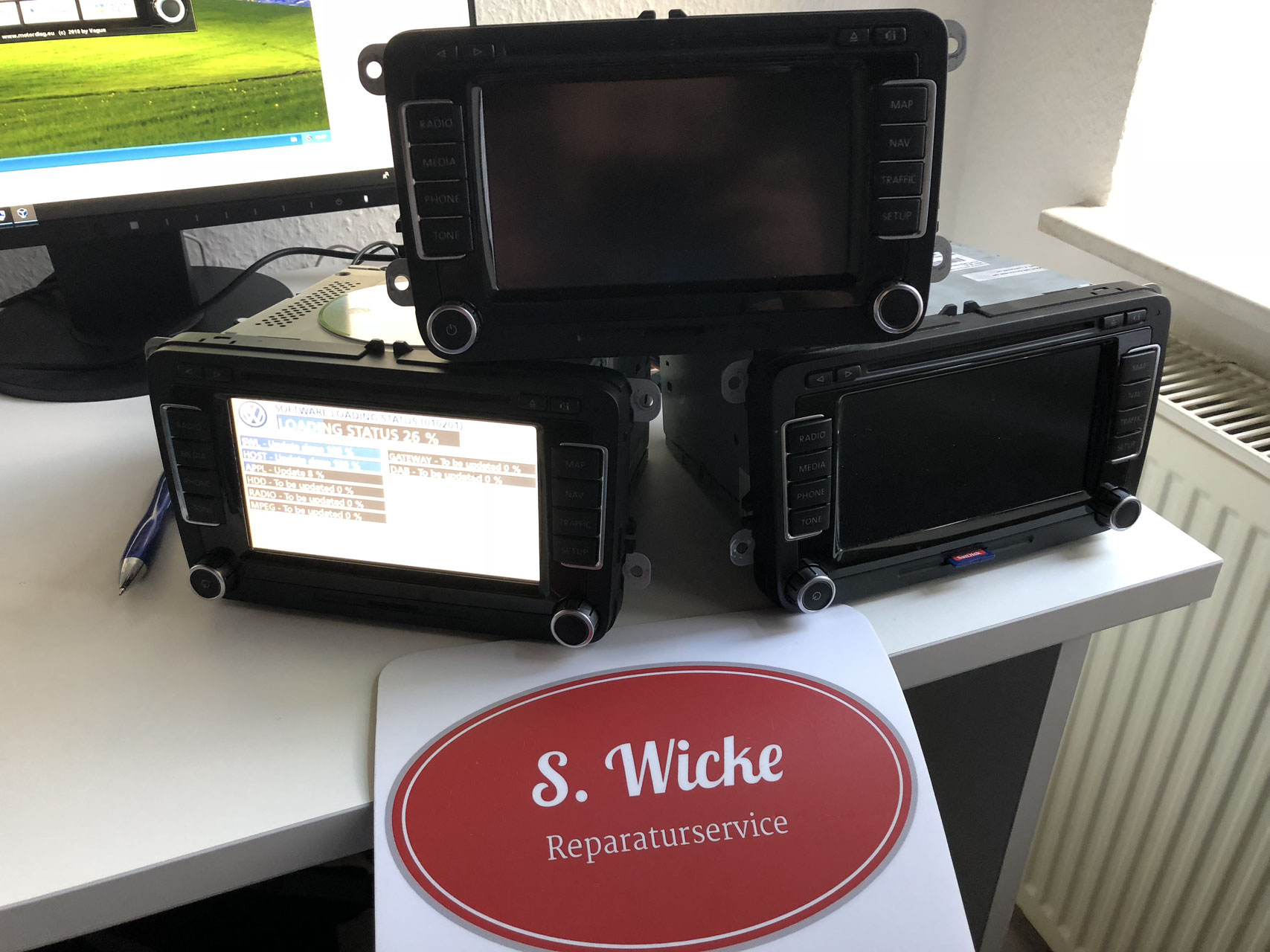 S  Wicke - Reparaturservice - Ihr Partner für´s RNS 510