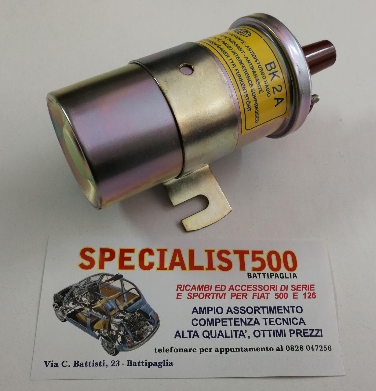 Schema Elettrico Per Accensione Elettronica Fiat 126 : Componenti accensione motore 500specialist fiat 500 specialist500