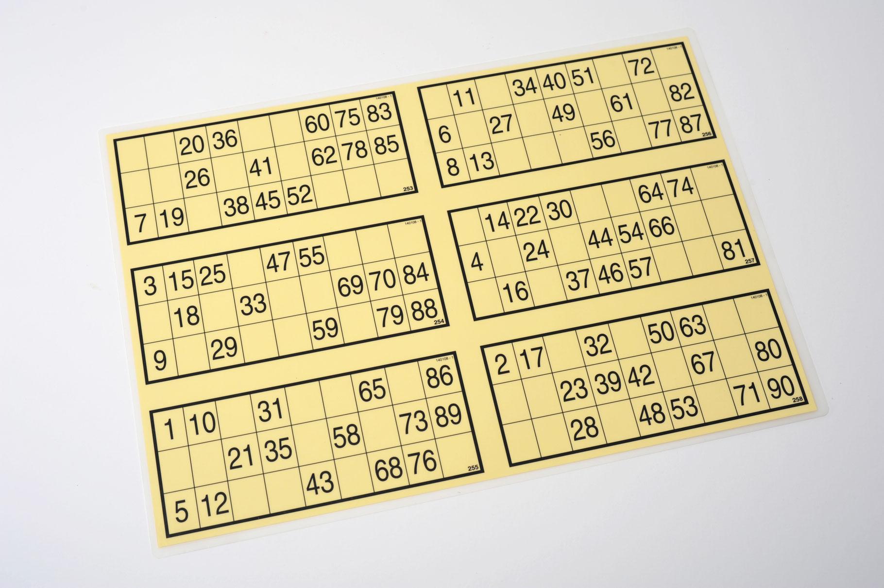 Bingo Lose Preis