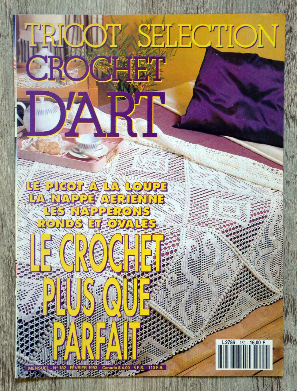 TRICOT SÉLECTION : CROCHET D'ART