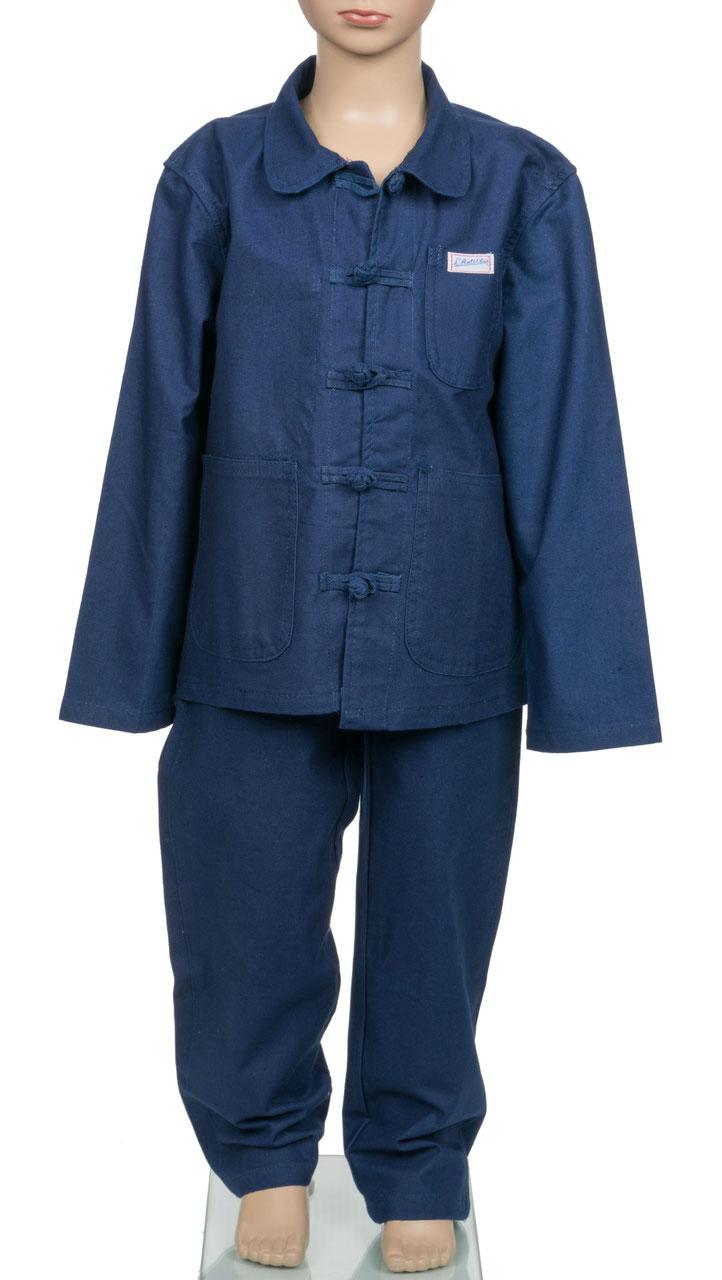 20207df08c6c2 COSTUMES bleu de chine véritable Anticher - bleu de chine MATELEAU