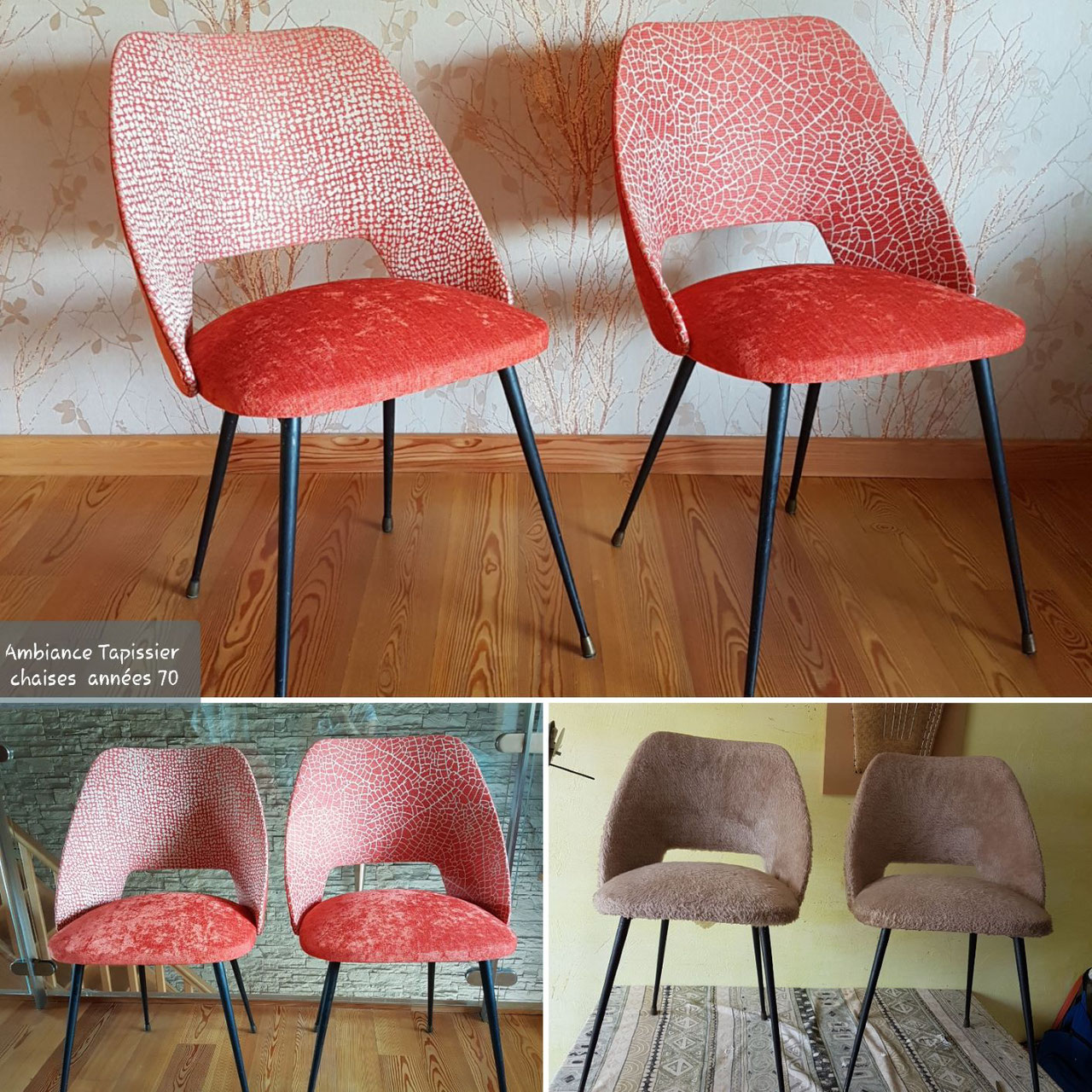 Chambre A Coucher Annees 70 boutique collection de fauteuils - vente de sièges uniques en gironde à  cestas à coté de pessac