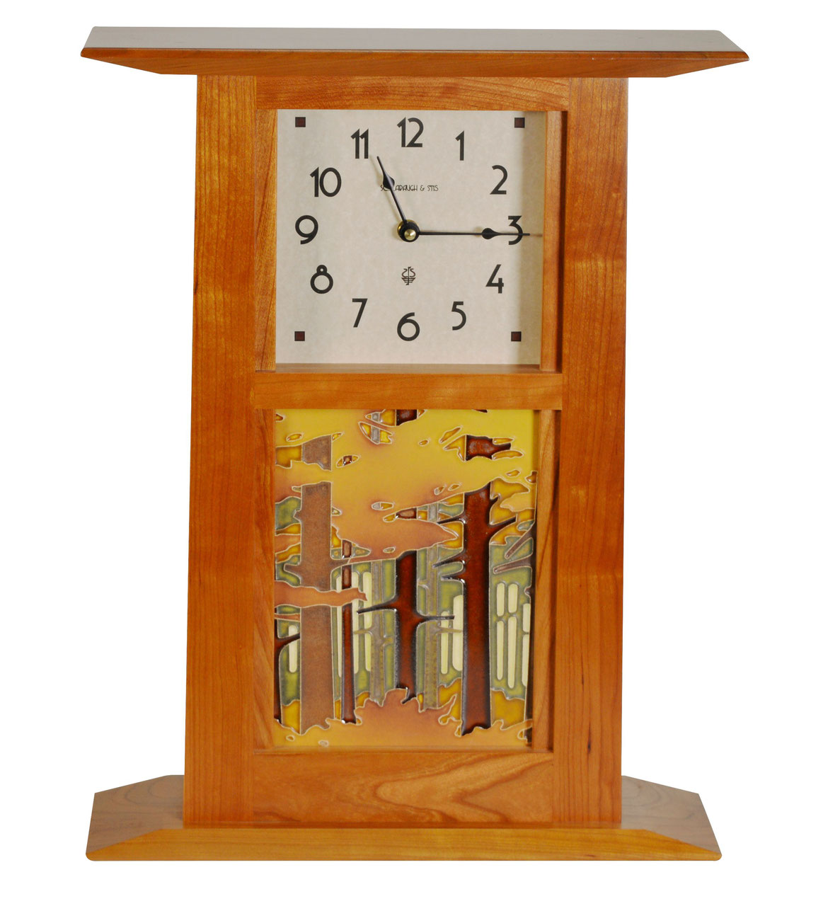 Motawi Tile Clock Tile Design Ideas