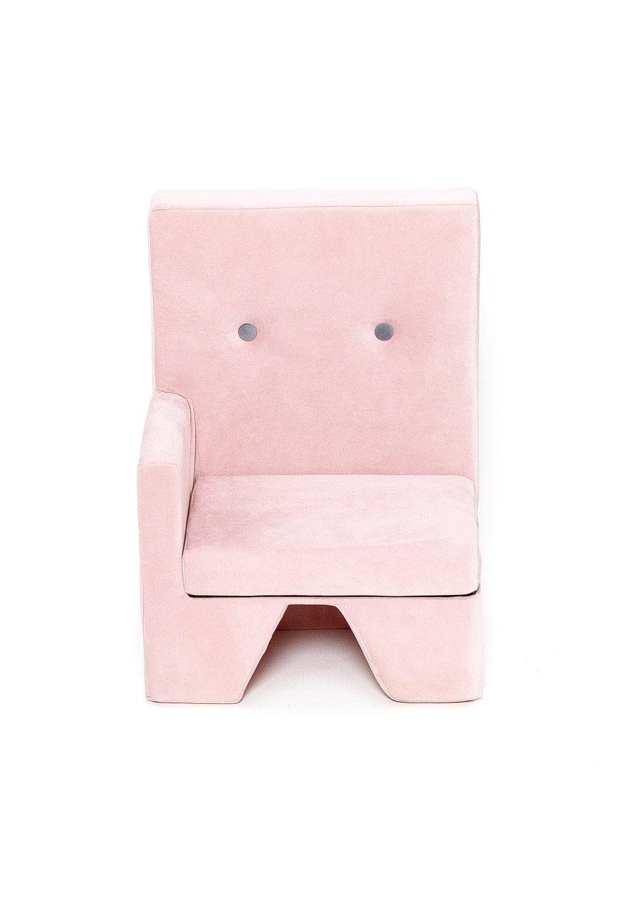 Sofa premium 1 armlehnen rechts rosa eged living style for Sofa zeichnen kinder