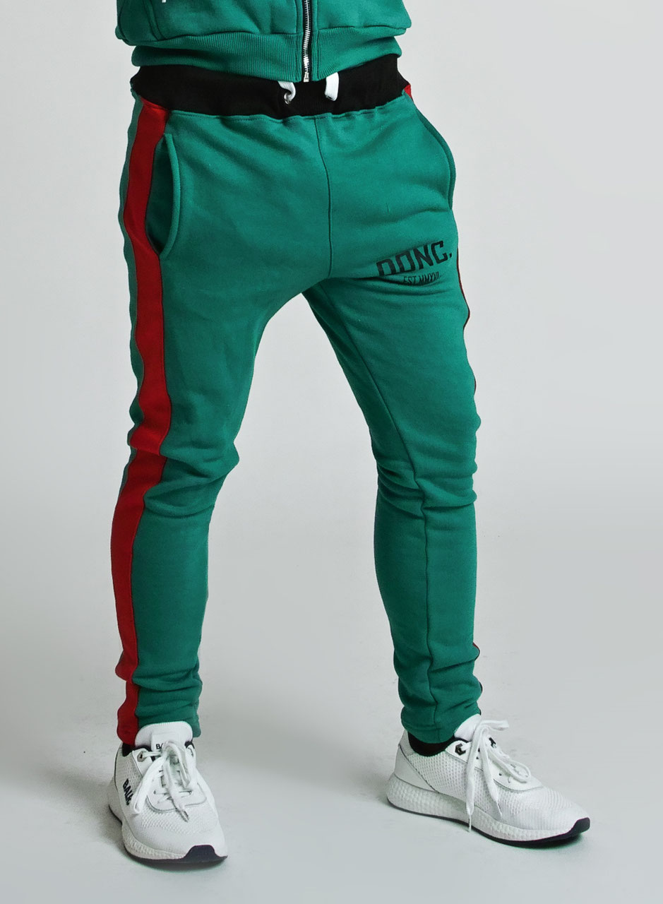 modern style cheaper sale hot-selling real Green Red Men's Stripe Joggers