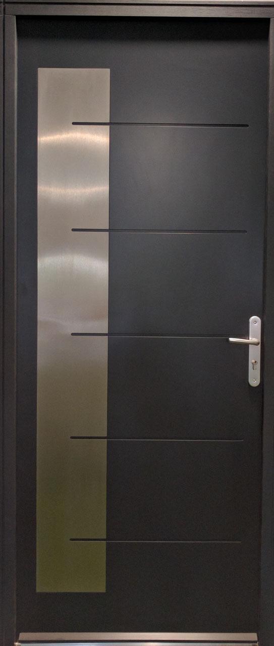 Porte menuiseries automatismes et domotique clermont for Dimension porte entree standard
