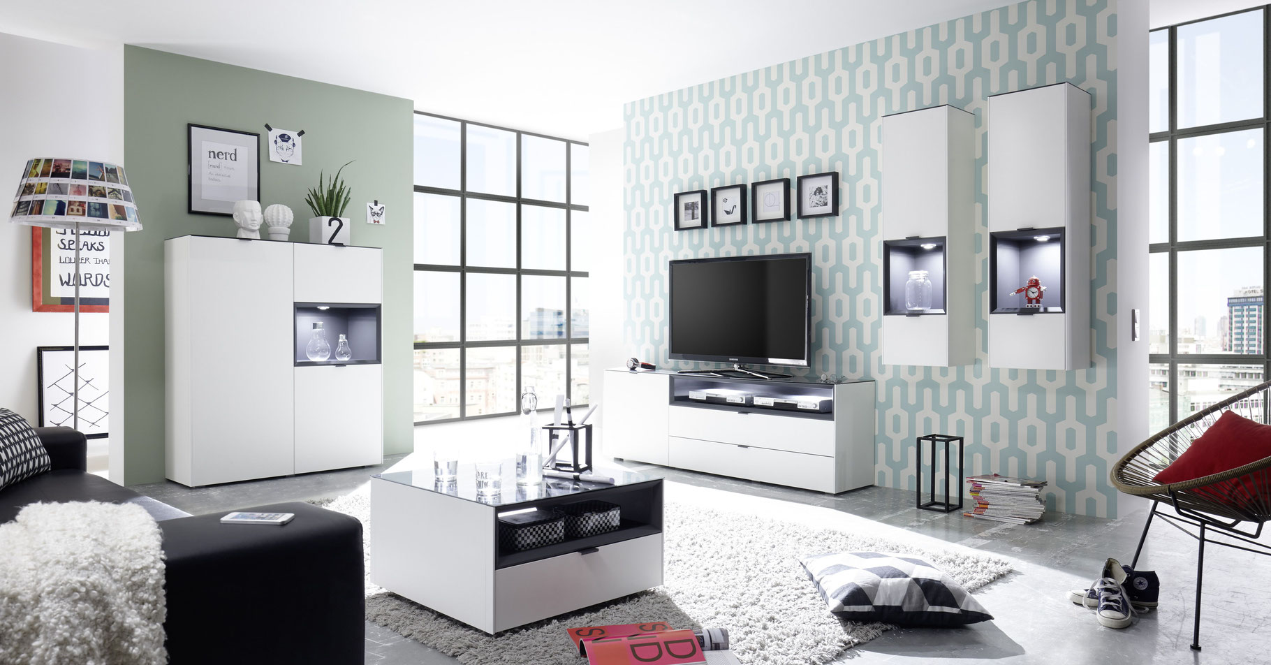 Wohnwand Günstige Möbel Für Alle