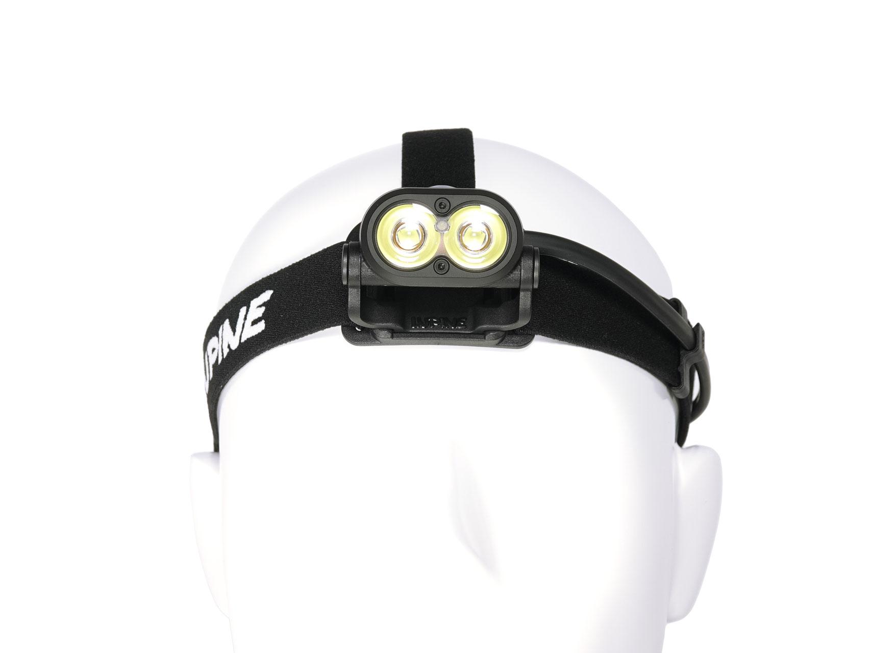 FastClick Adapter Piko R Stirnband Standard schwarz inkl Lupine Piko