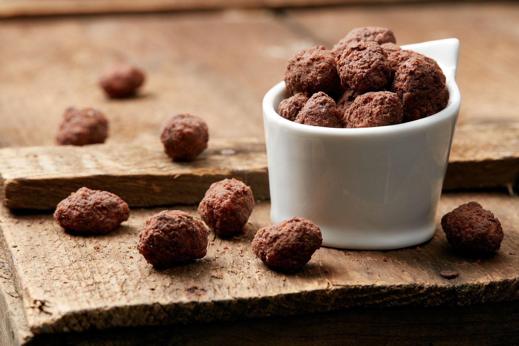 gebrannte mandeln mit nutella