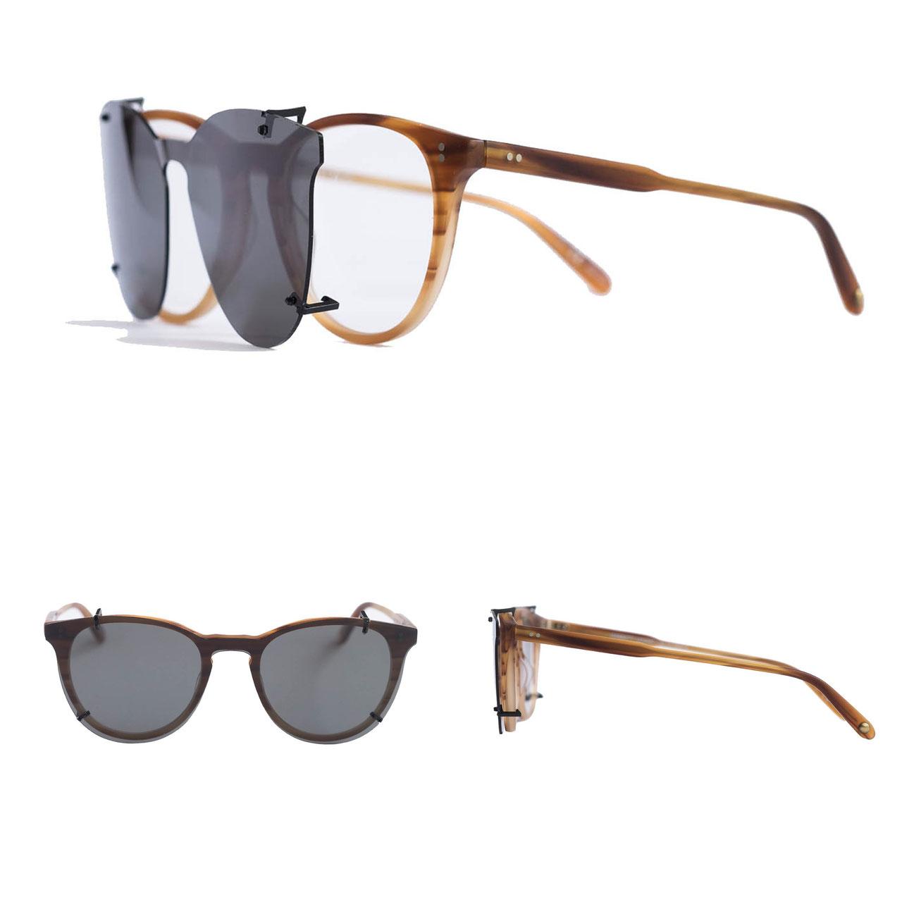 sonnenbrillen aufsatz test