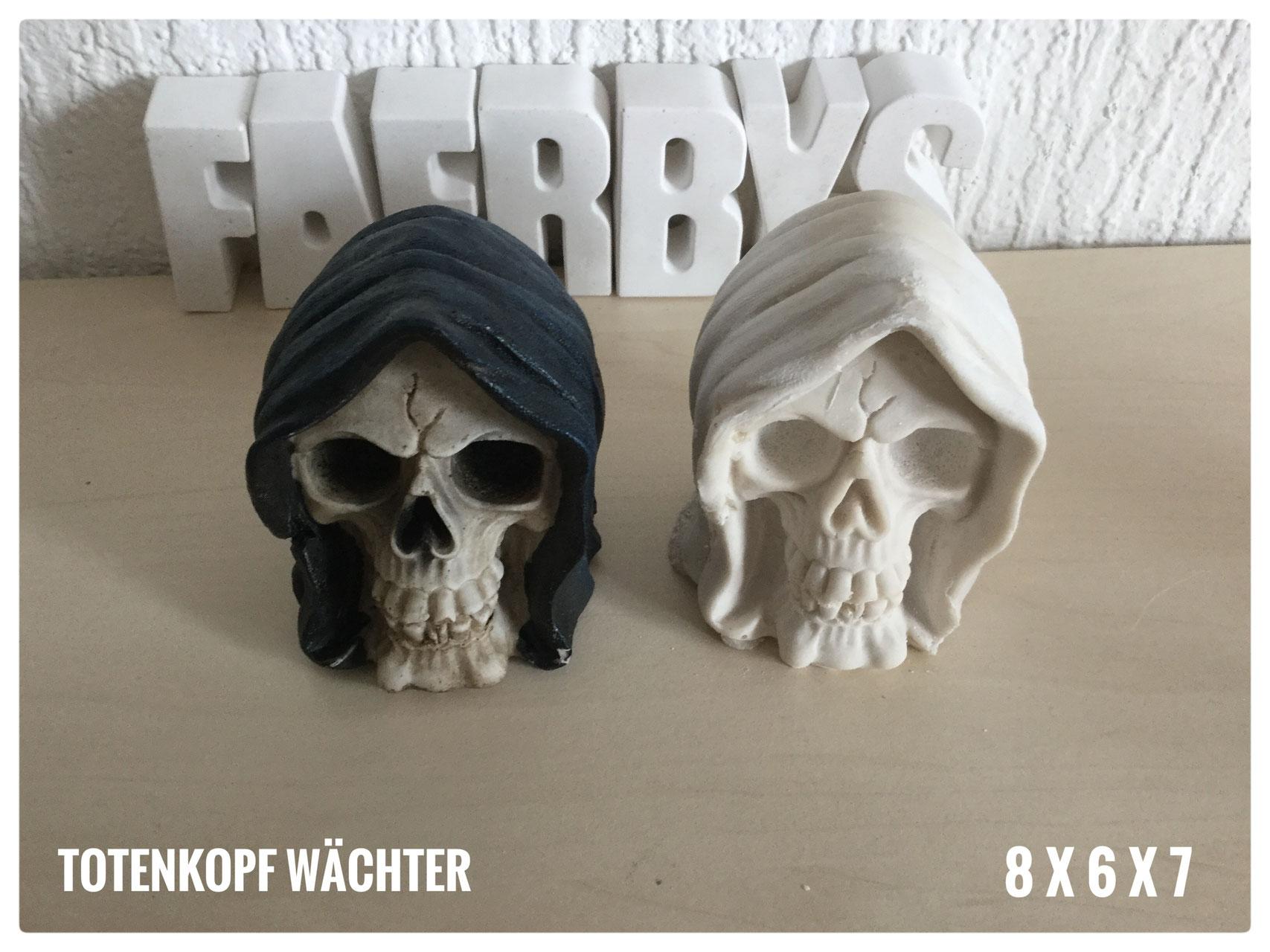 Latex Totenkopf Gießform Skull Latexform