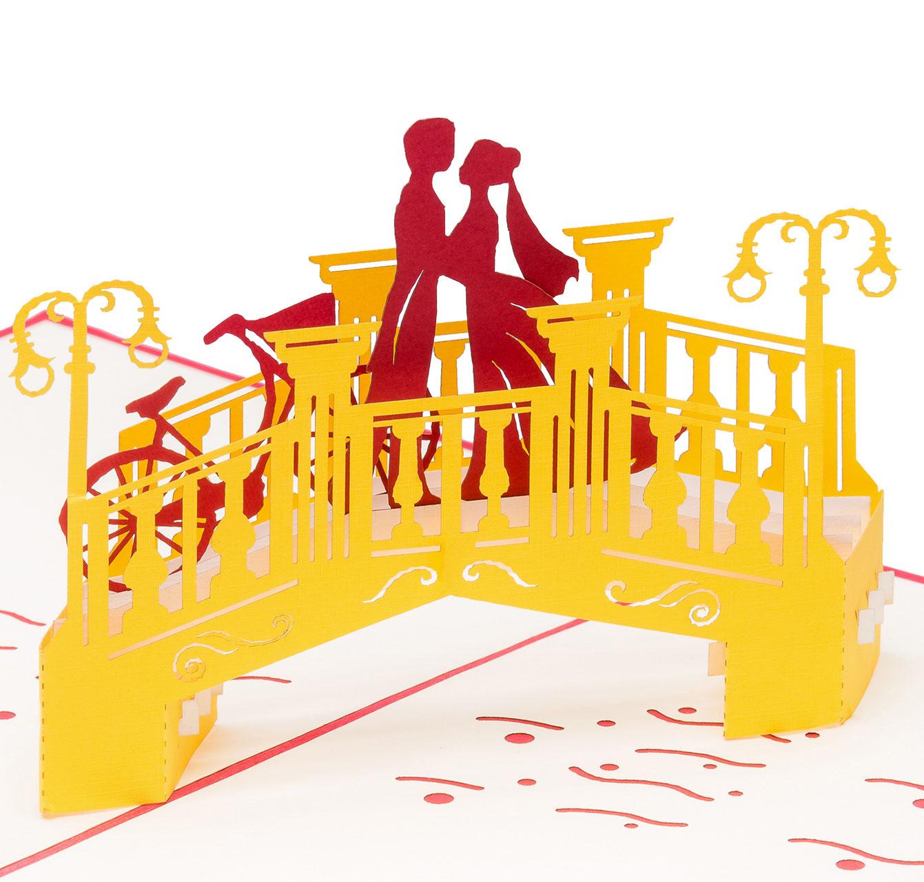 3d Hochzeitskarten Verlobungskarten 3d Pop Up Karten Und