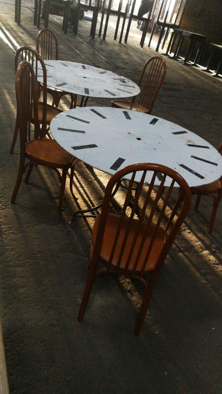 Tische Gartensets Villaterra Vintage Industrie Design