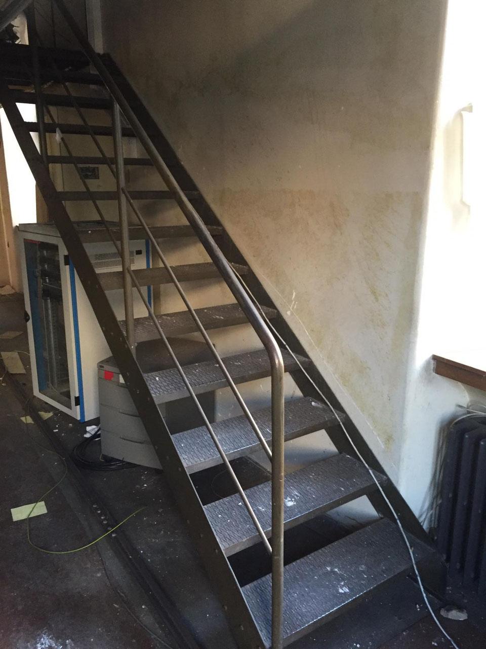 Treppen Und Gelander Villaterra Vintage Industrie Design