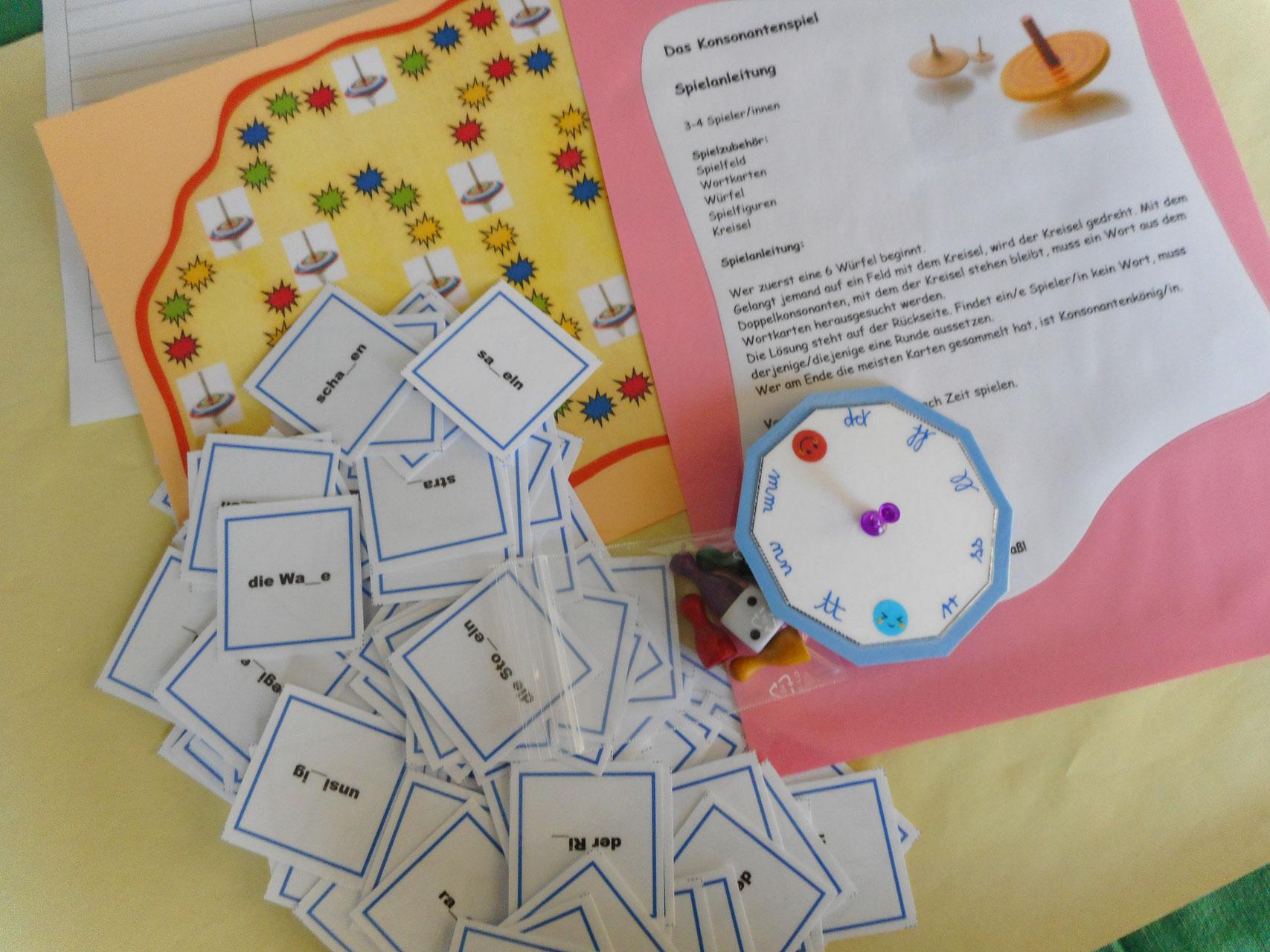 Spiele im Deutschunterricht - Unterrichtsmaterialien für Sekundarstufe 1