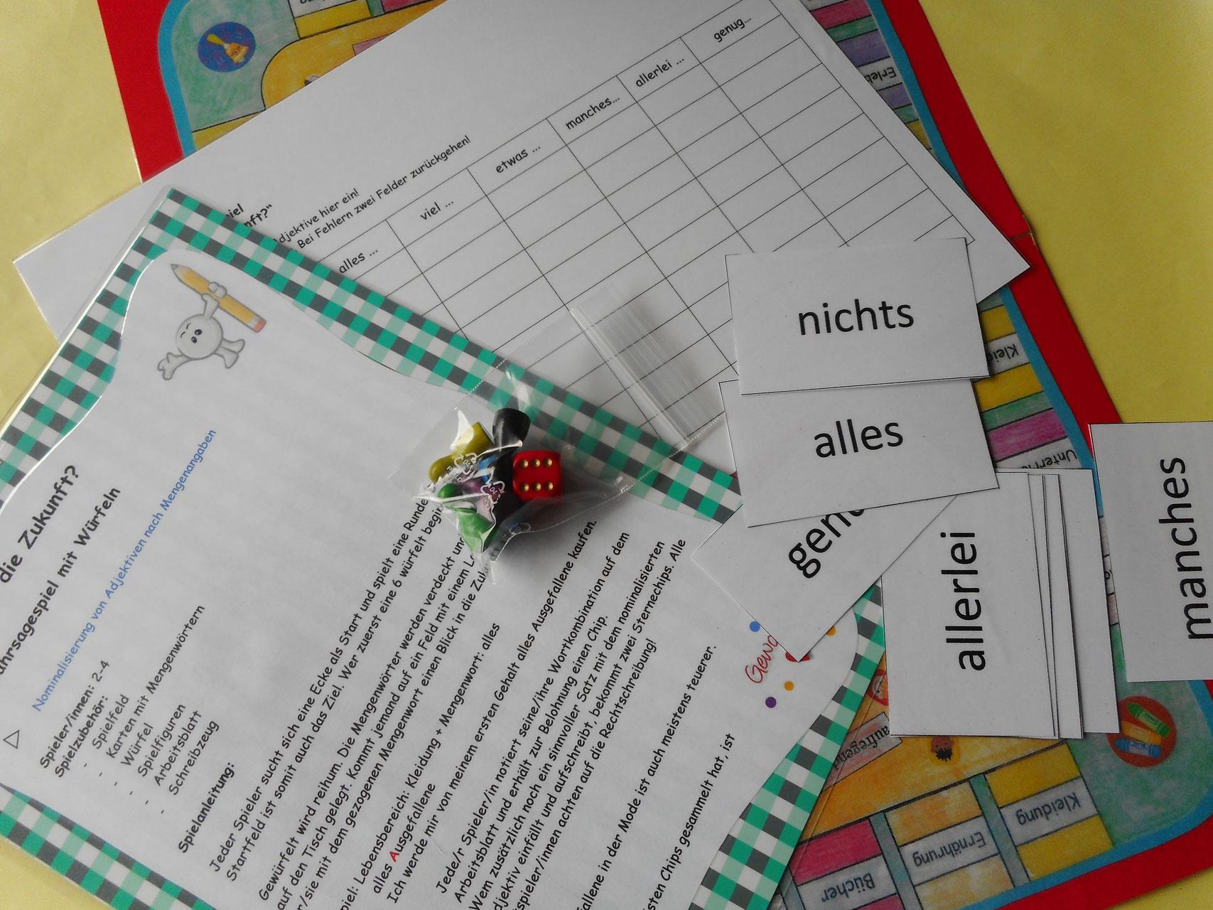 spiele im deutschunterricht unterrichtsmaterialien f252r
