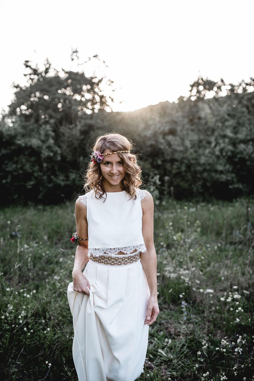 brautkleid online - Atelier Bona Res - individuelle Brautmode