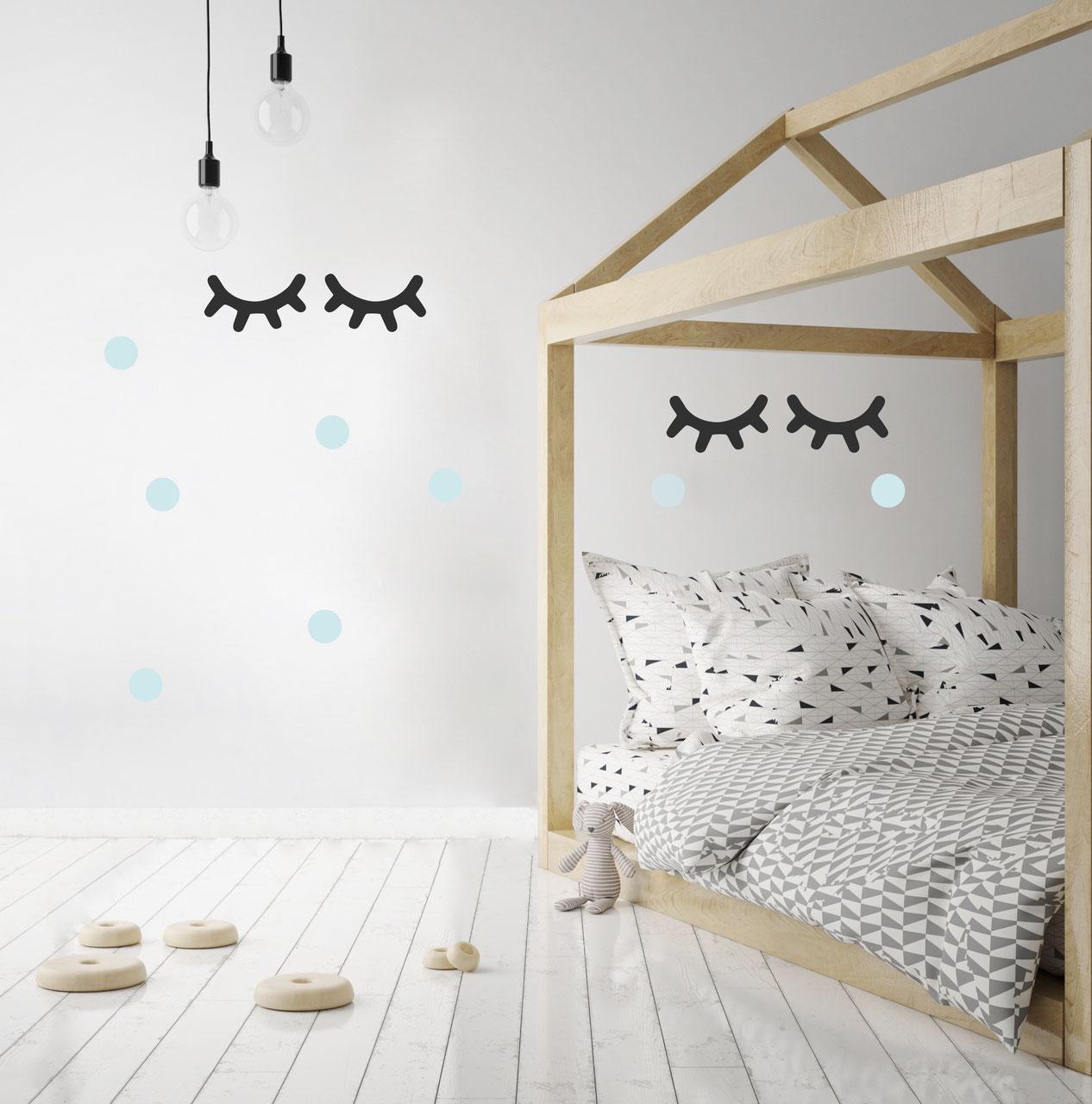 Pom le bonhomme- stickers muraux chambre bébé et enfant - Déco ...