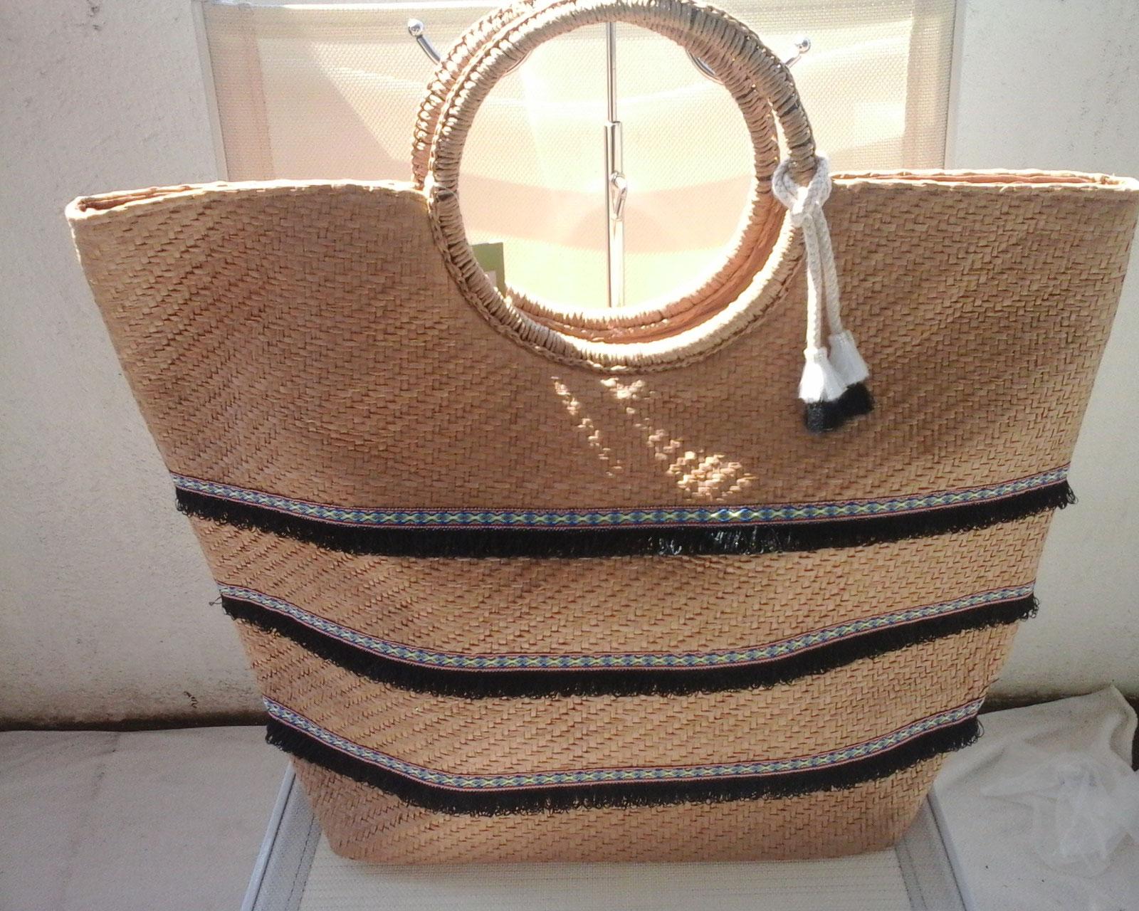 sacs plage mon accessoire tendance sacs originaux. Black Bedroom Furniture Sets. Home Design Ideas