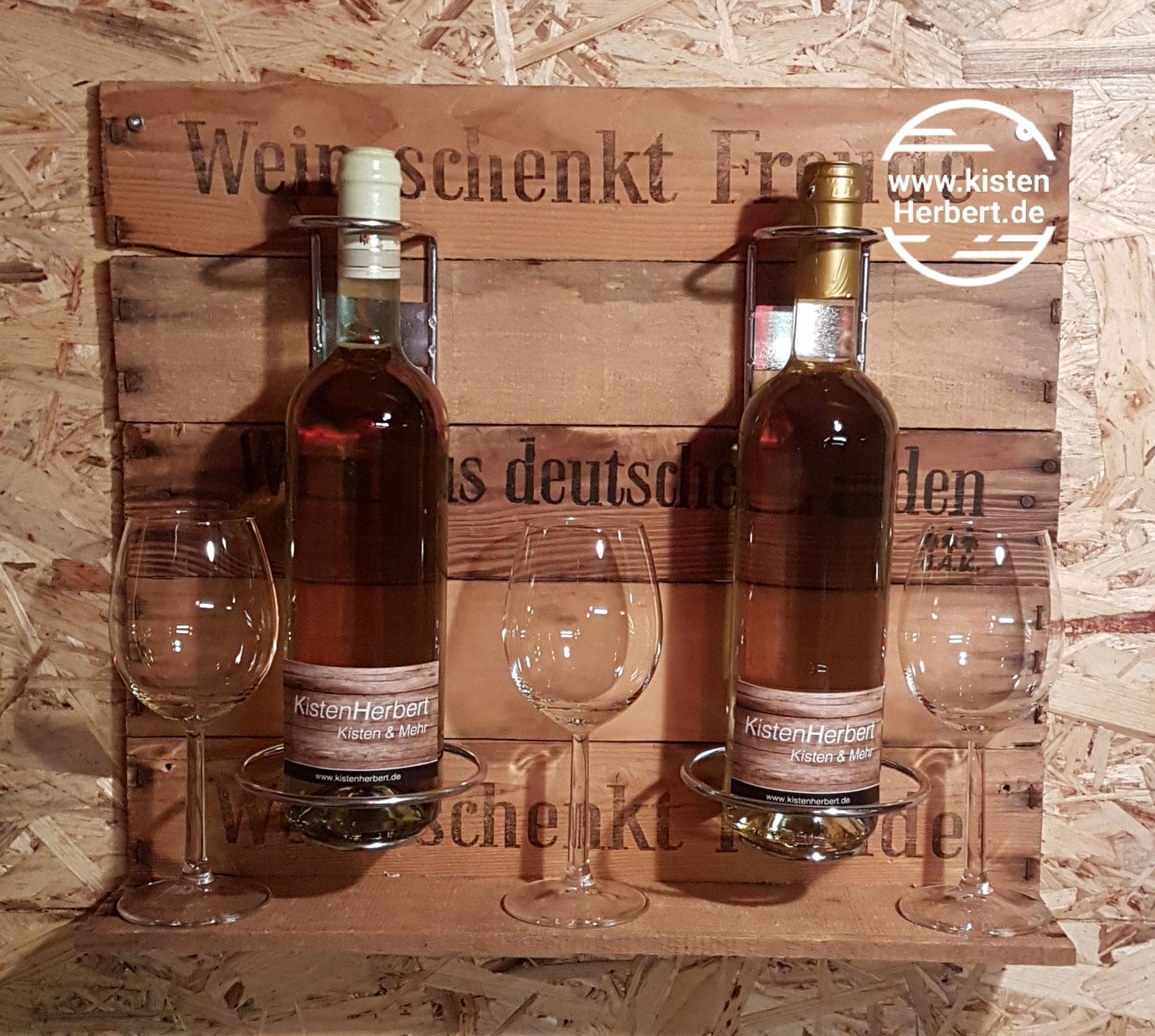Weinbar Und Weinregale Weinkisten Und Holzkisten Vom Kistenherbert