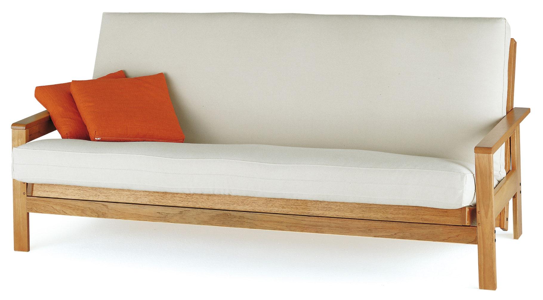 Vermont futones colchones camas tatamis y convertibles for Sofa convertible en cama